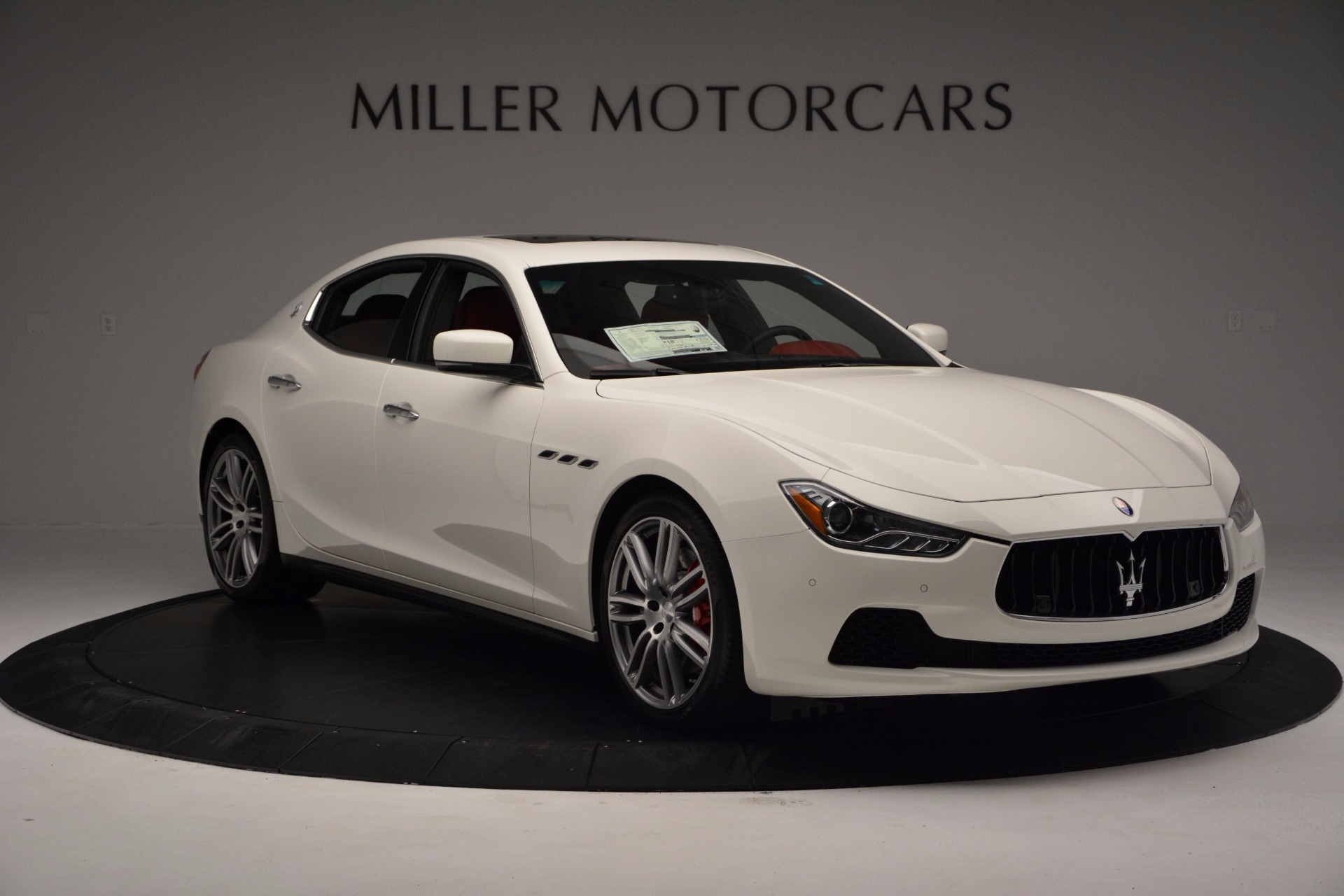 New 2017 Maserati Ghibli S Q4 For Sale In Greenwich, CT 1111_p11