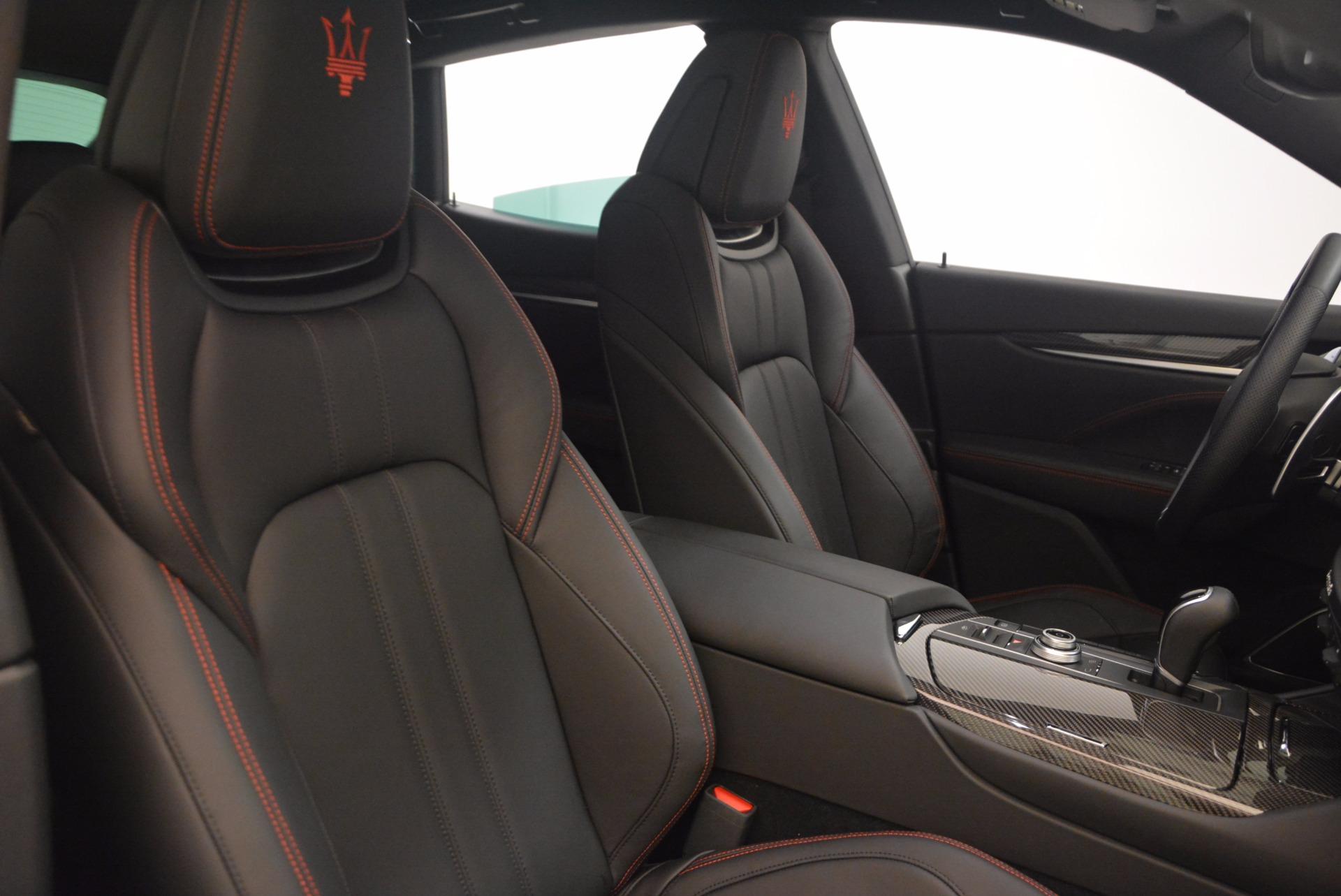 Used 2017 Maserati Levante S For Sale In Greenwich, CT 1112_p22