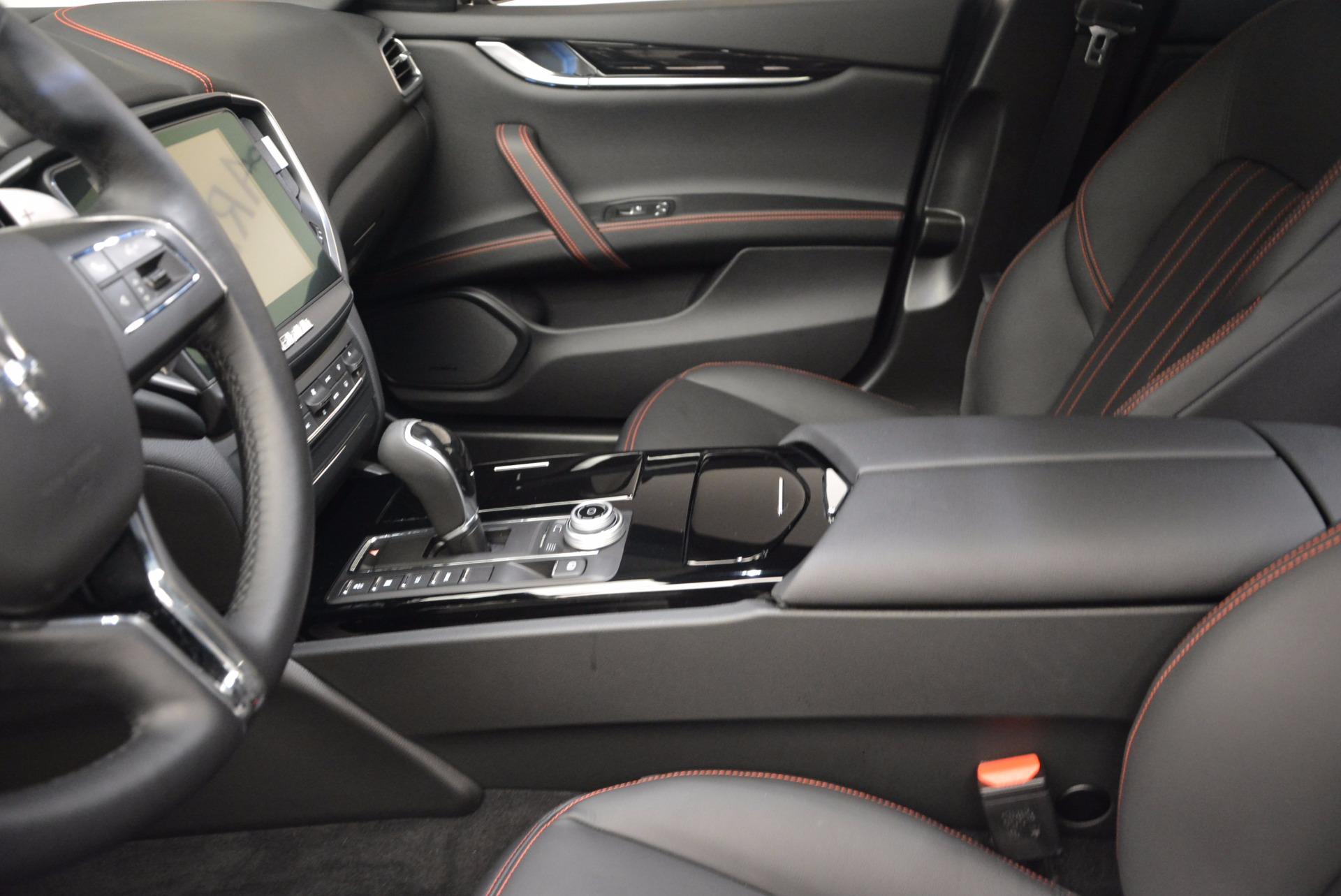 New 2017 Maserati Ghibli S Q4 For Sale In Greenwich, CT 1113_p13