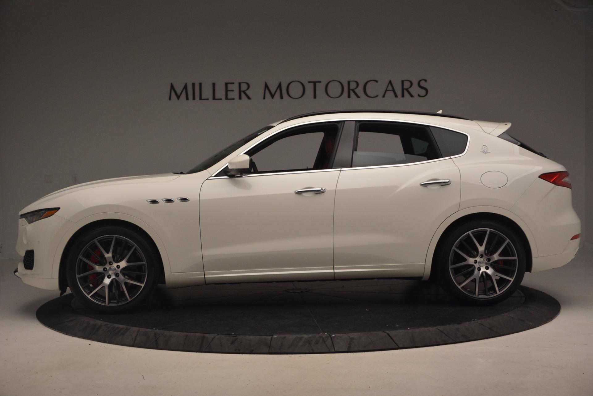 New 2017 Maserati Levante S For Sale In Greenwich, CT 1117_p3