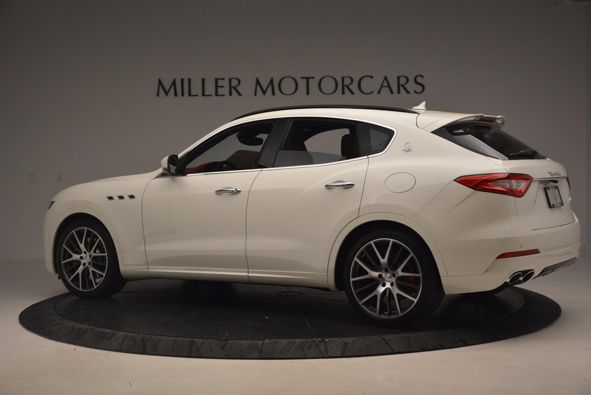 New 2017 Maserati Levante S For Sale In Greenwich, CT 1117_p4