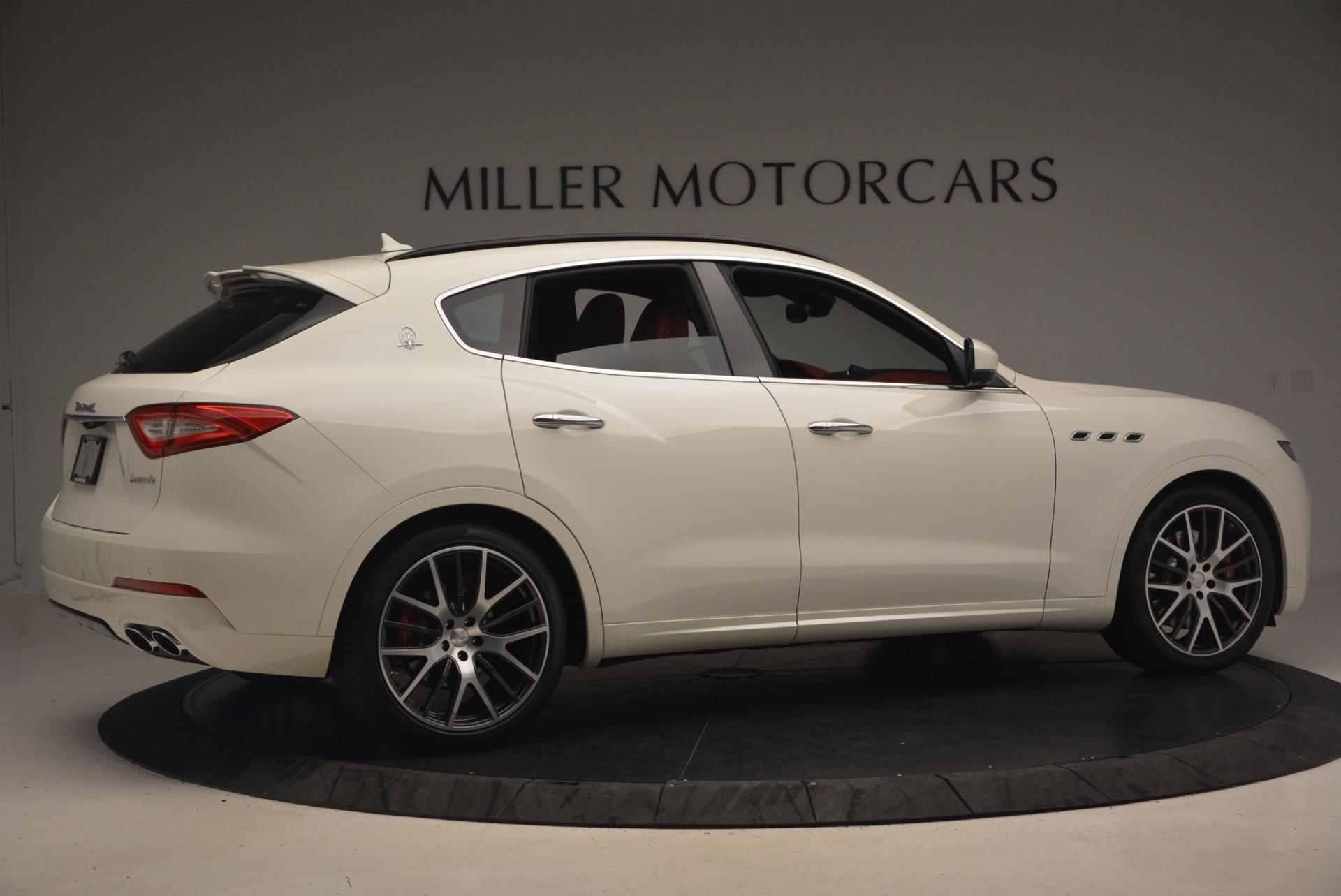 New 2017 Maserati Levante S For Sale In Greenwich, CT 1117_p8