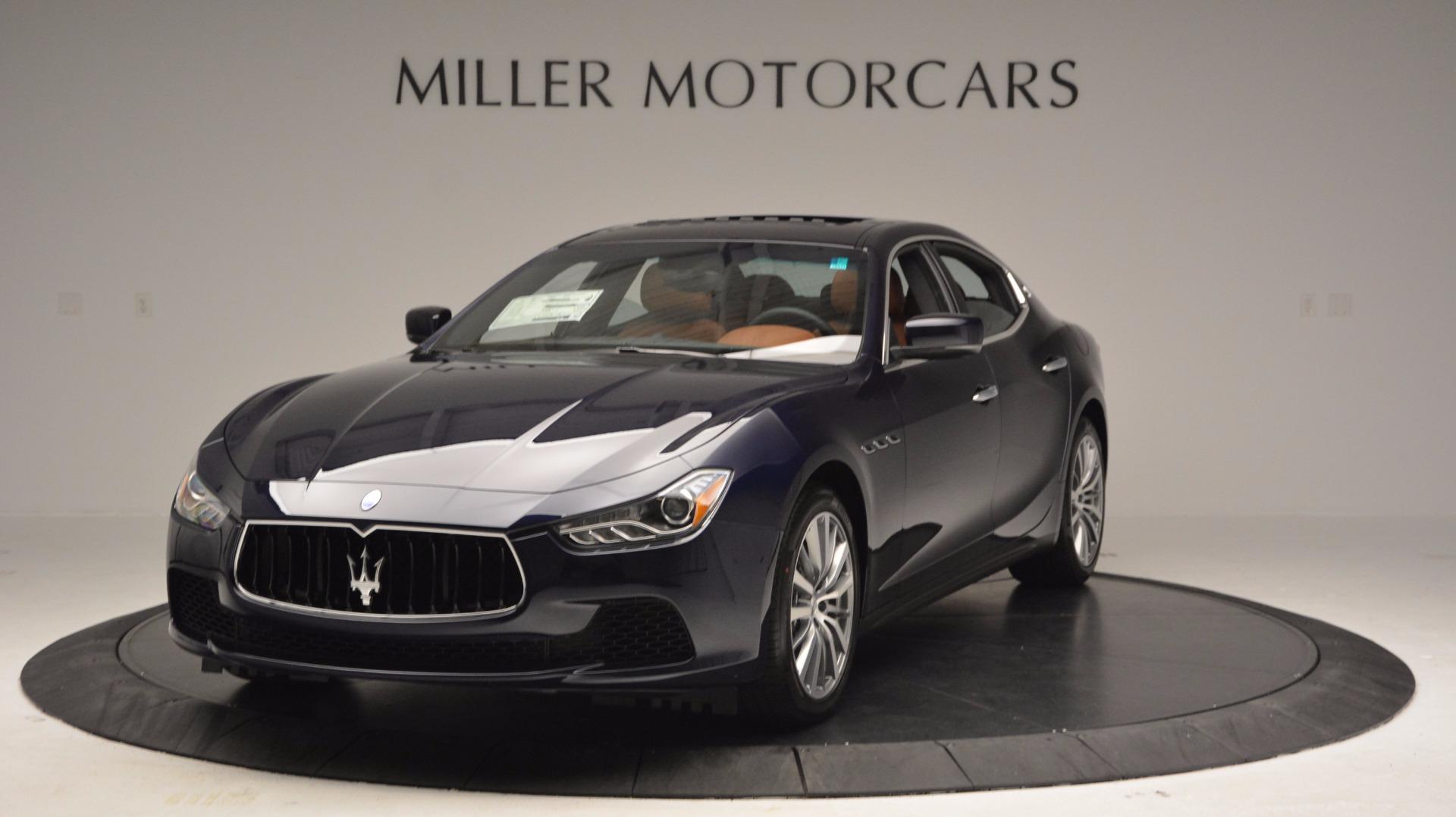 New 2017 Maserati Ghibli S Q4 For Sale In Greenwich, CT 1119_main