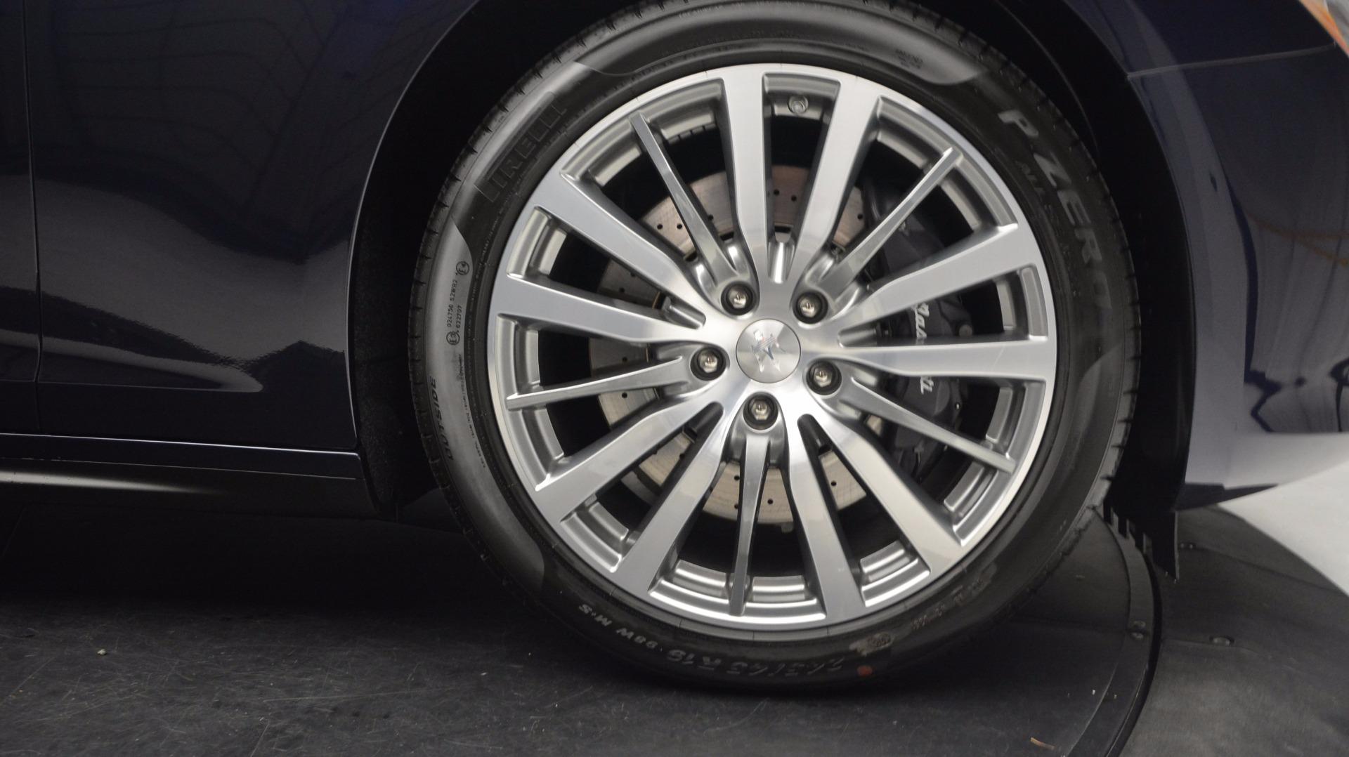 New 2017 Maserati Ghibli S Q4 For Sale In Greenwich, CT 1119_p13