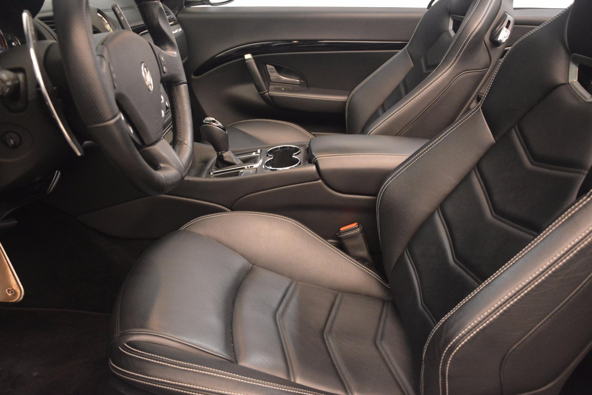 Used 2014 Maserati GranTurismo Sport For Sale In Greenwich, CT 1128_p44