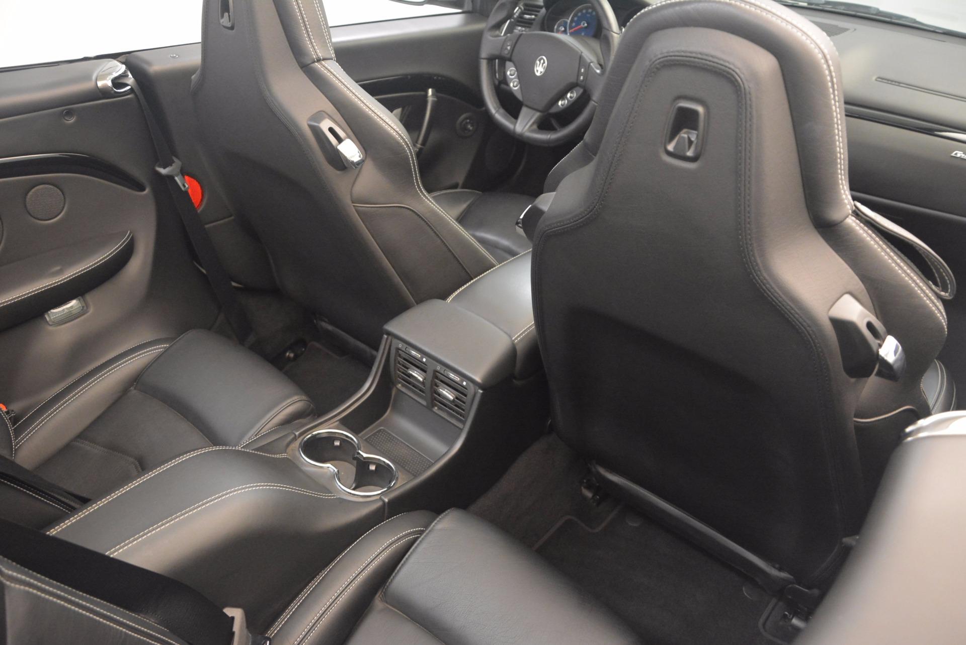 Used 2014 Maserati GranTurismo Sport For Sale In Greenwich, CT 1128_p52