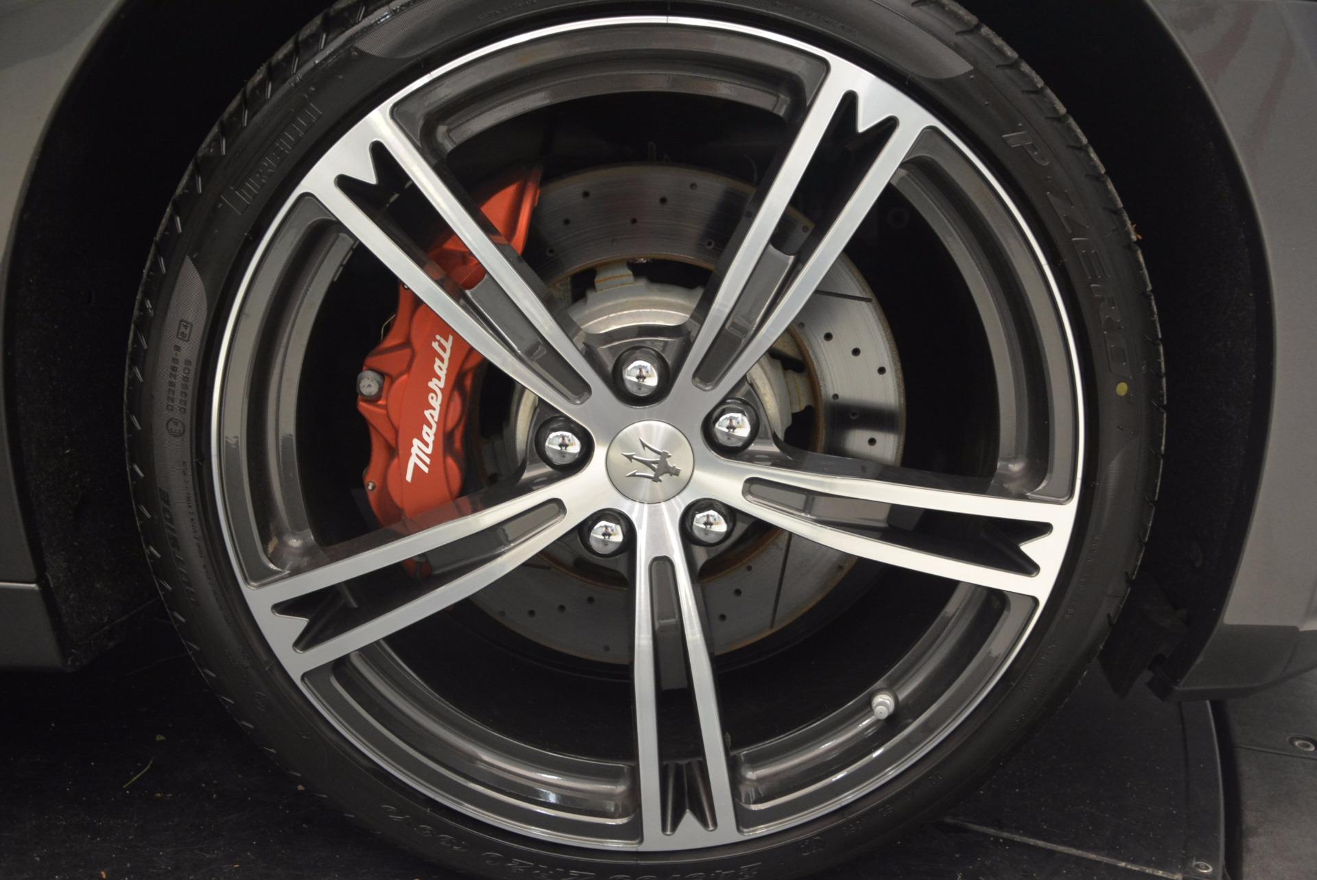 Used 2015 Maserati GranTurismo MC For Sale In Greenwich, CT 1135_p38