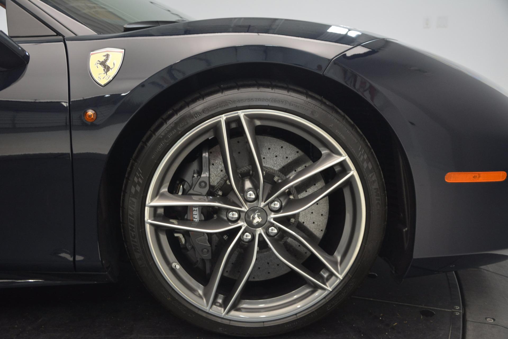 Used 2016 Ferrari 488 GTB  For Sale In Greenwich, CT 1136_p22