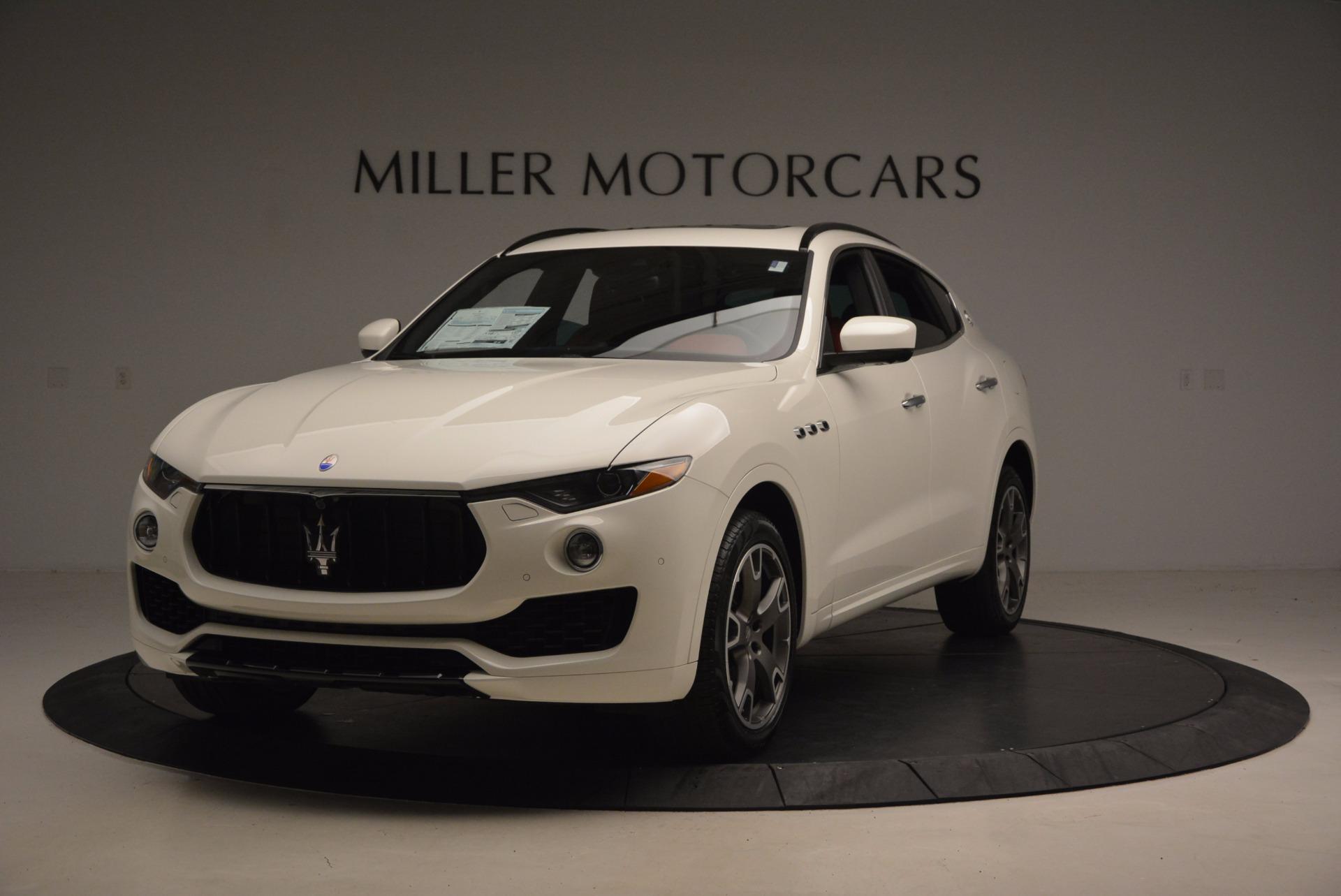 New 2017 Maserati Levante  For Sale In Greenwich, CT 1145_main