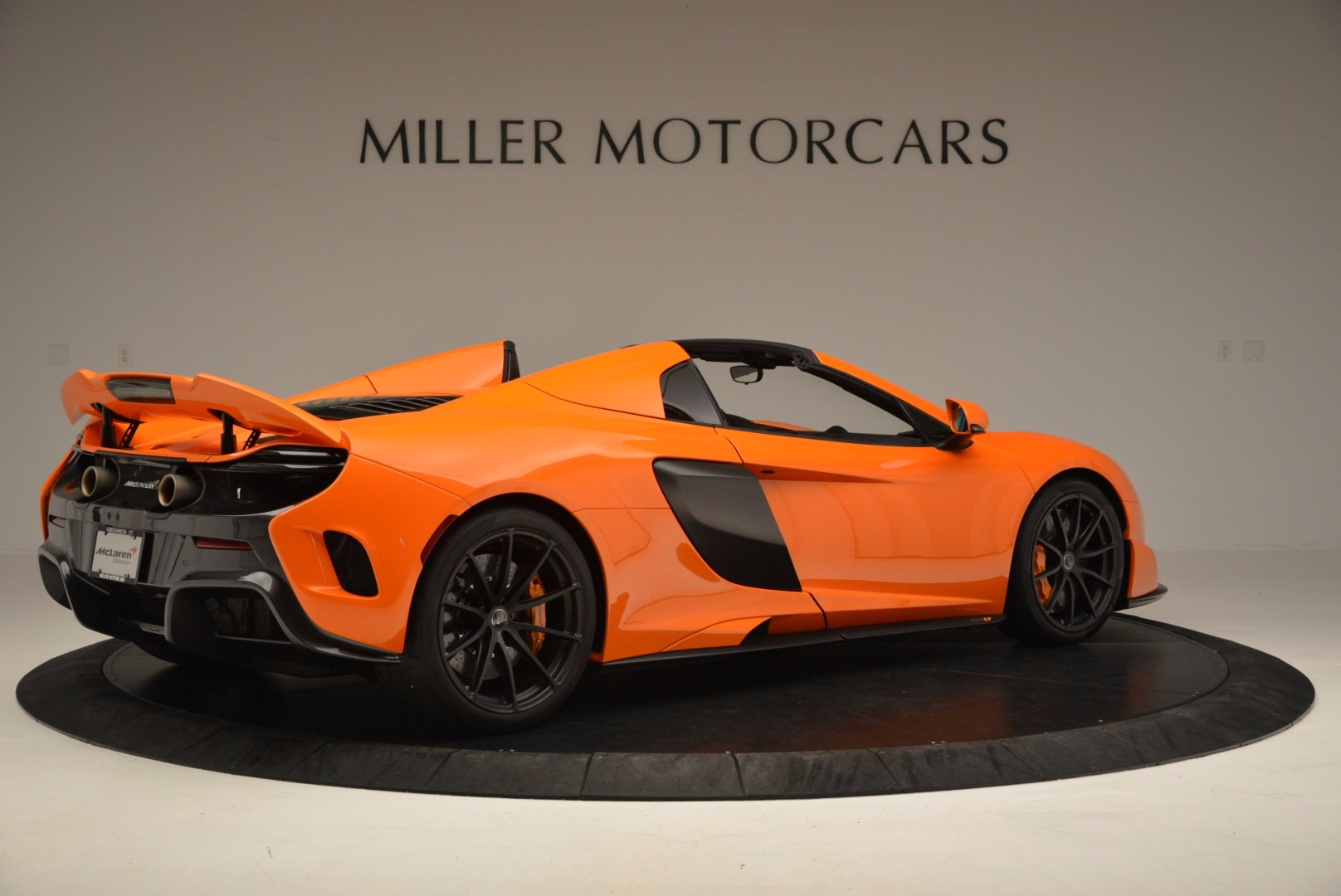 Used 2016 McLaren 675LT Spider Convertible For Sale In Greenwich, CT 1150_p8