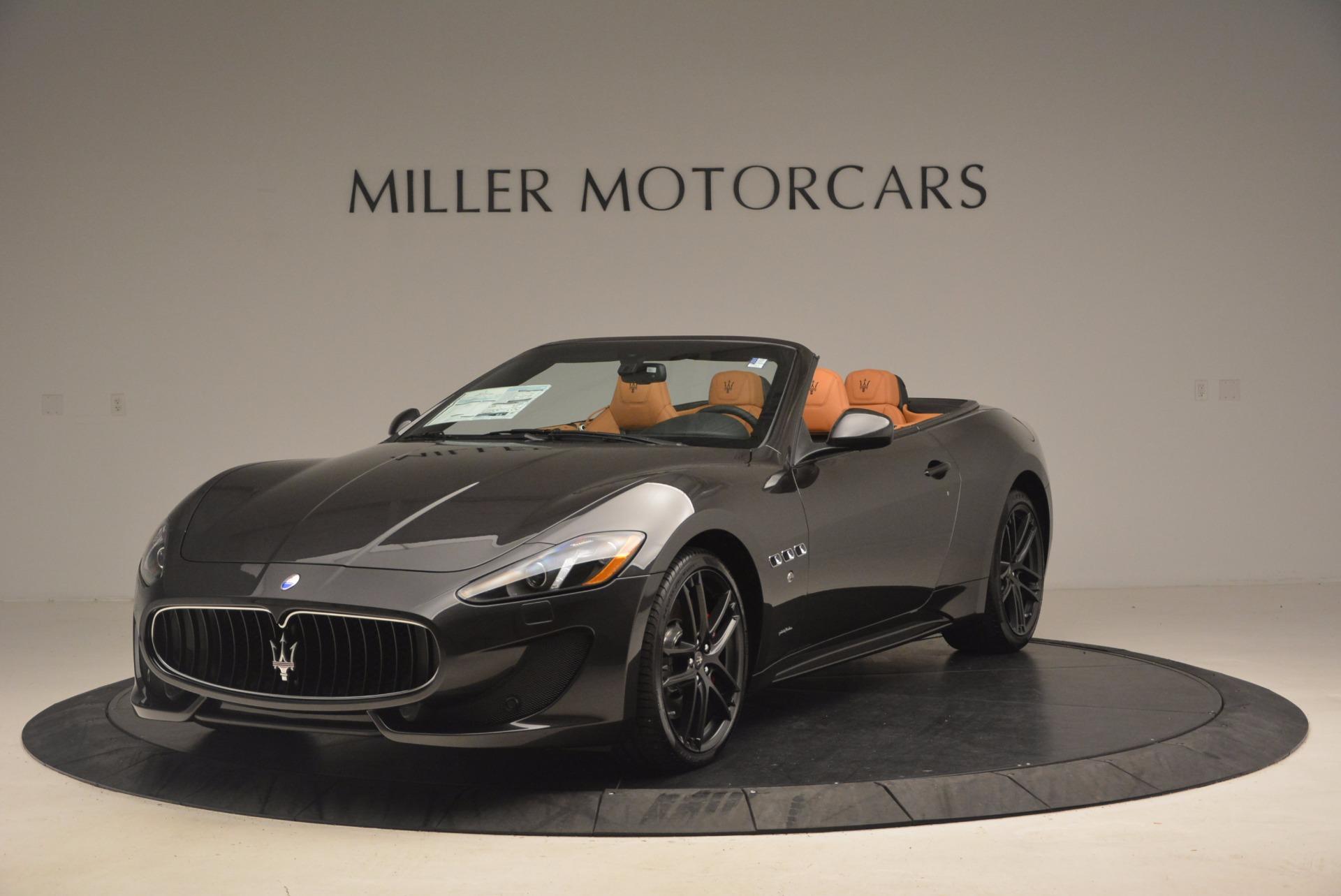 New 2017 Maserati GranTurismo Sport For Sale In Greenwich, CT 1154_main