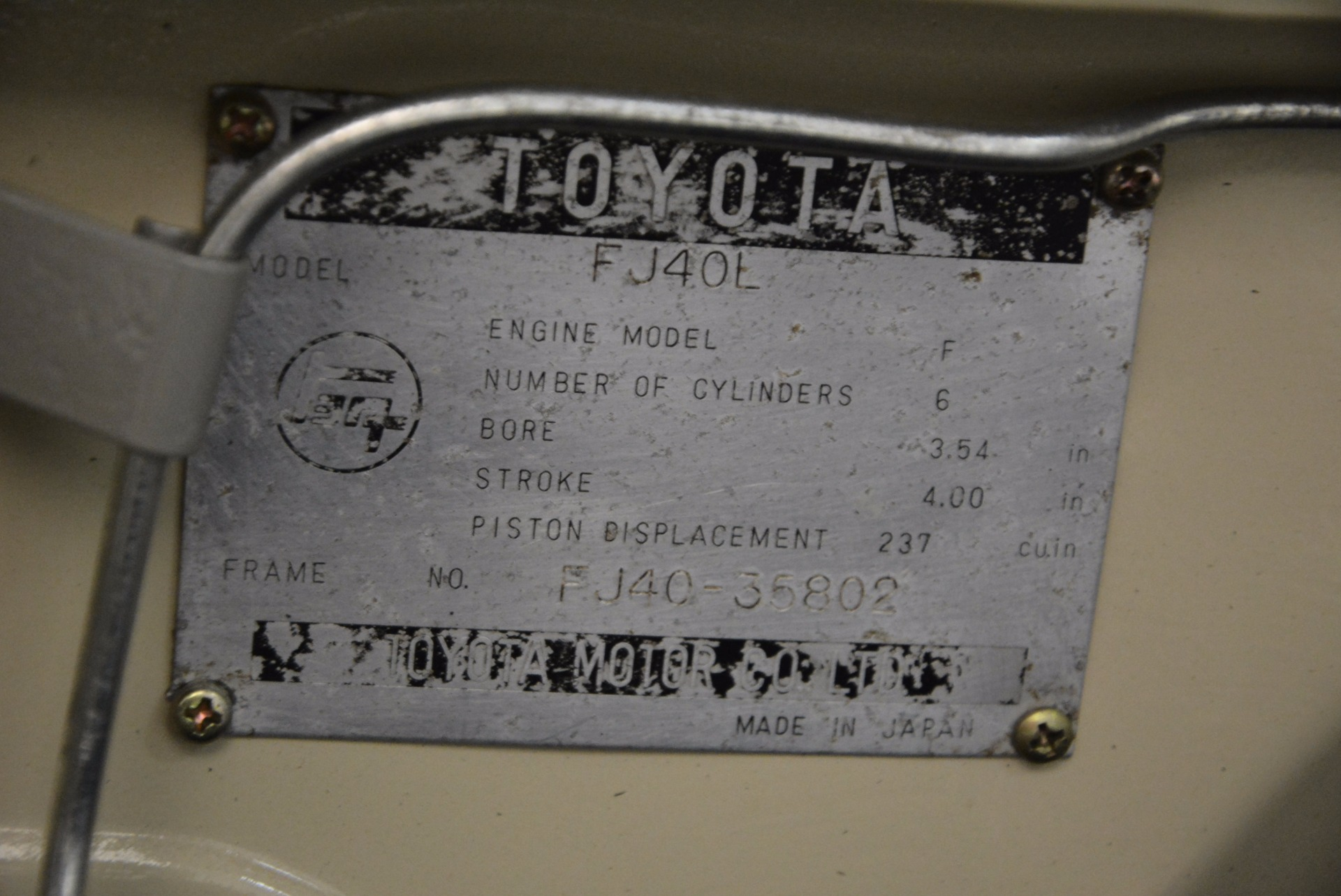 Used 1966 Toyota FJ40 Land Cruiser Land Cruiser For Sale In Greenwich, CT 1179_p32
