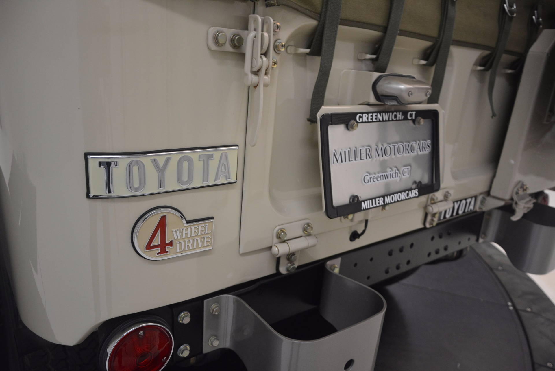 Used 1966 Toyota FJ40 Land Cruiser Land Cruiser For Sale In Greenwich, CT 1179_p34