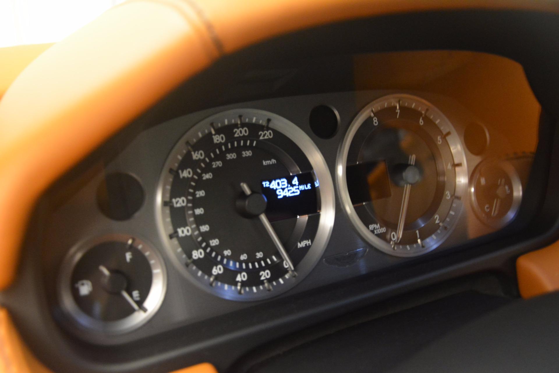 Used 2009 Aston Martin V8 Vantage  For Sale In Greenwich, CT 1183_p18