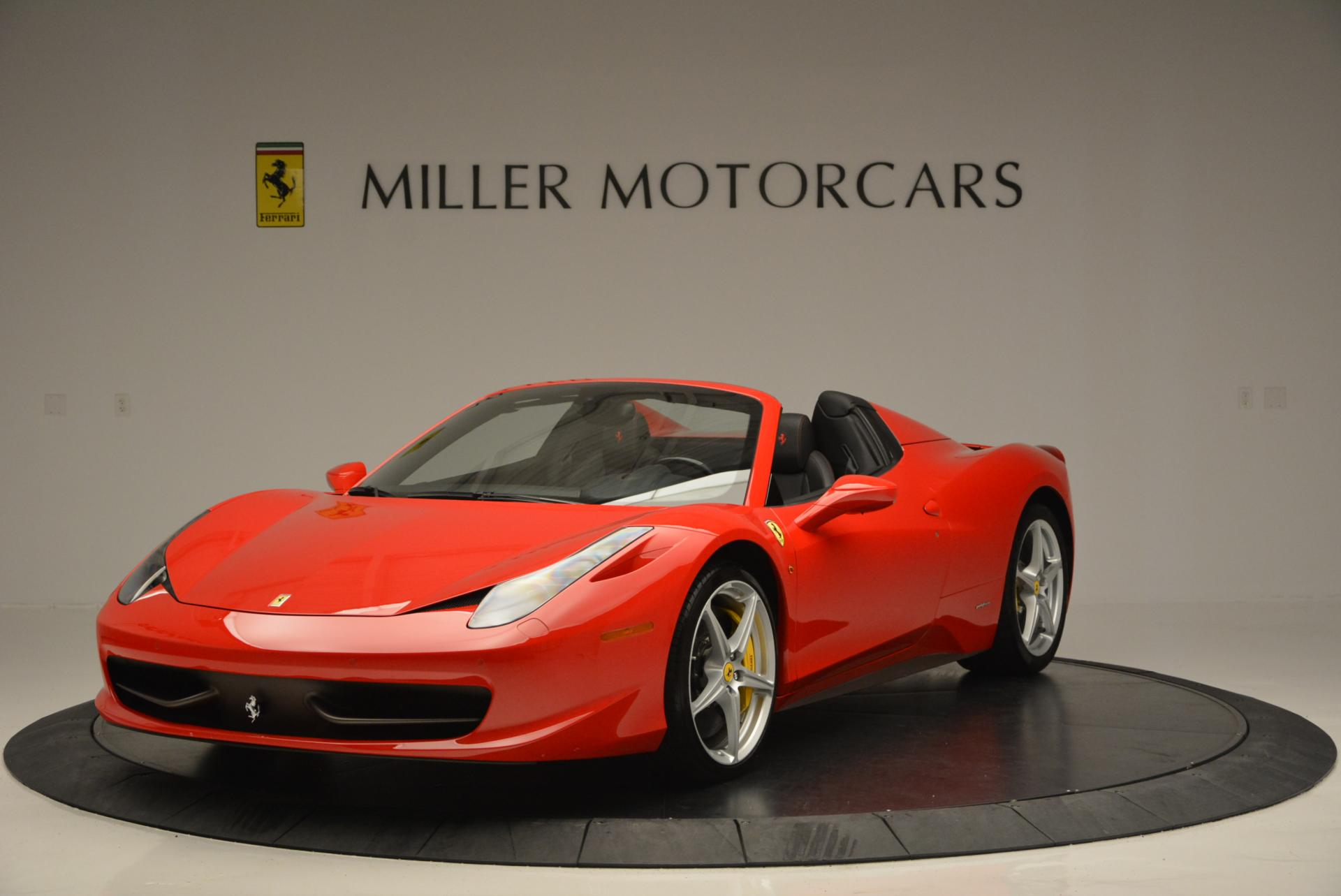 Used 2014 Ferrari 458 Spider  For Sale In Greenwich, CT 122_main