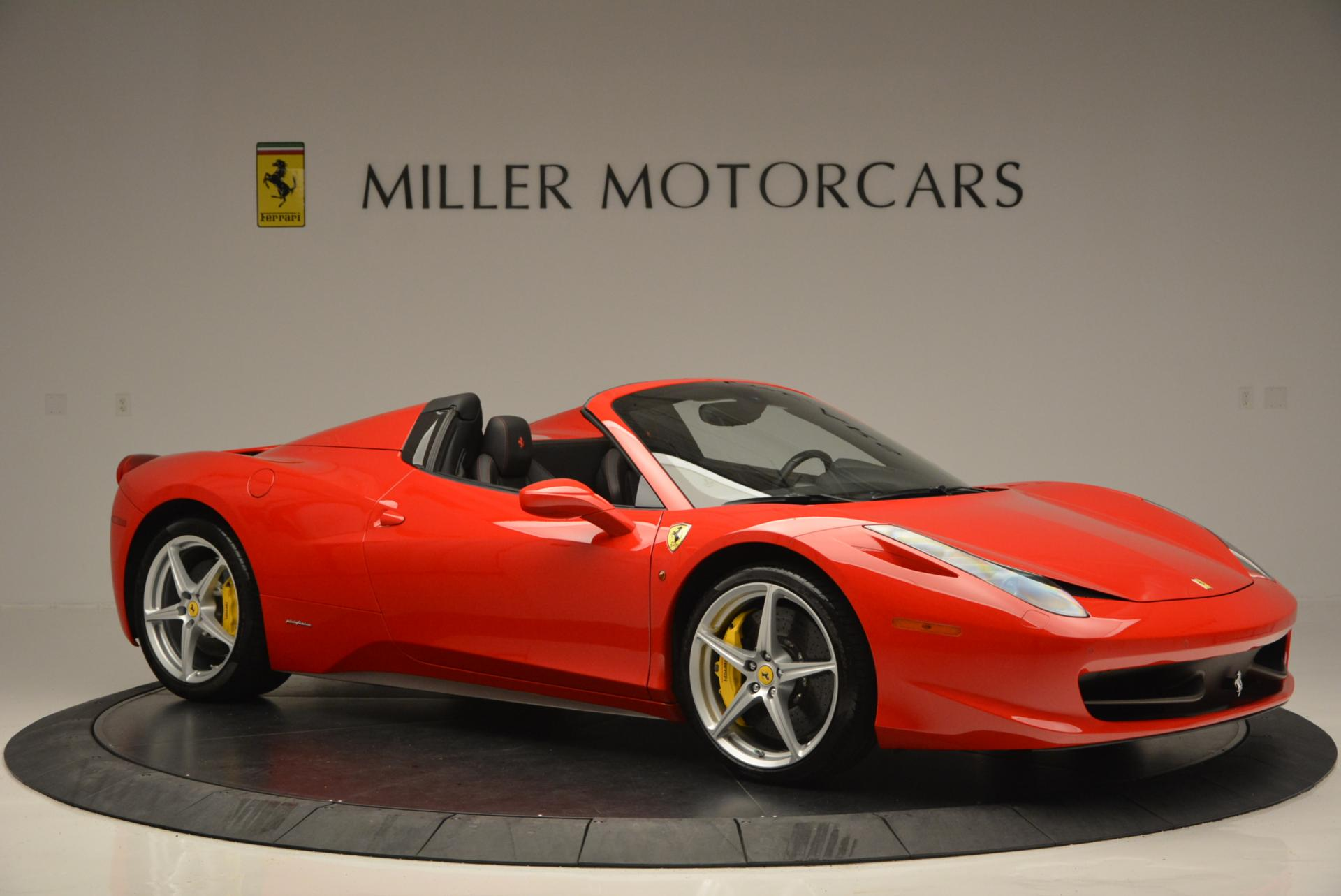 Used 2014 Ferrari 458 Spider  For Sale In Greenwich, CT 122_p10