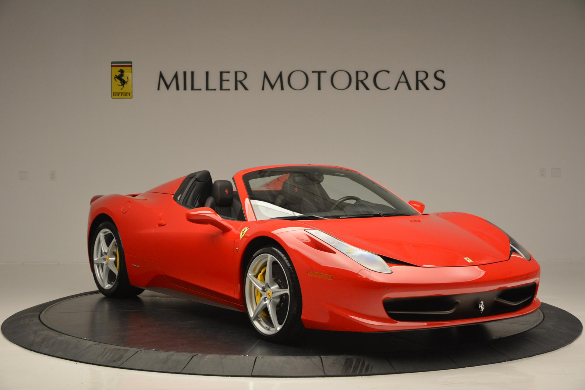 Used 2014 Ferrari 458 Spider  For Sale In Greenwich, CT 122_p11