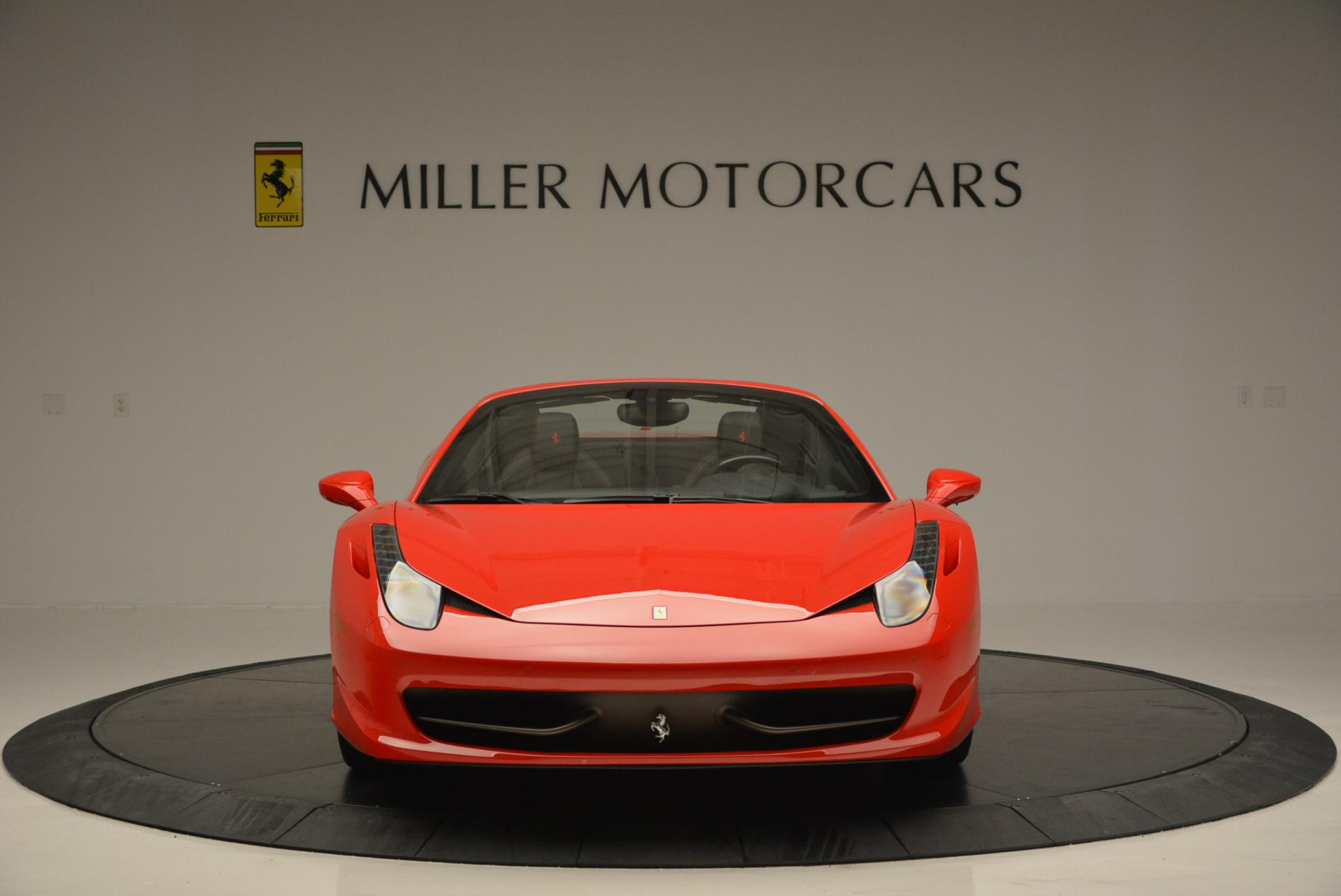 Used 2014 Ferrari 458 Spider  For Sale In Greenwich, CT 122_p12