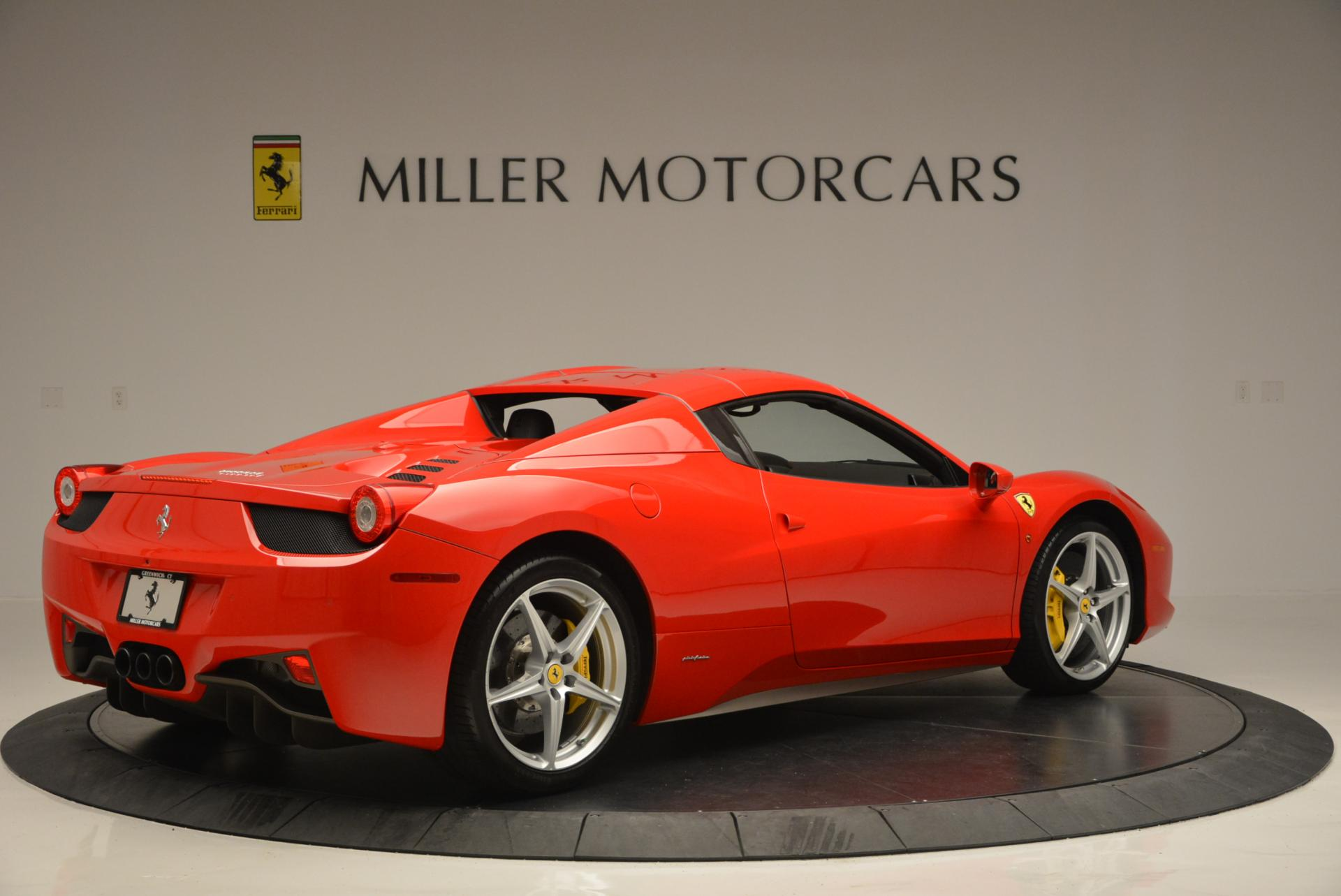 Used 2014 Ferrari 458 Spider  For Sale In Greenwich, CT 122_p20