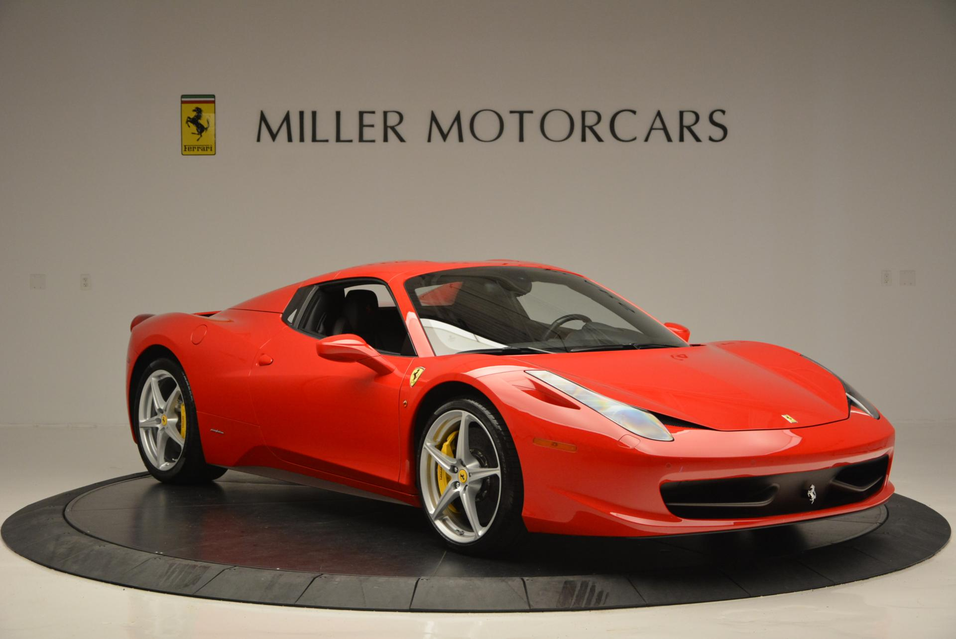 Used 2014 Ferrari 458 Spider  For Sale In Greenwich, CT 122_p23