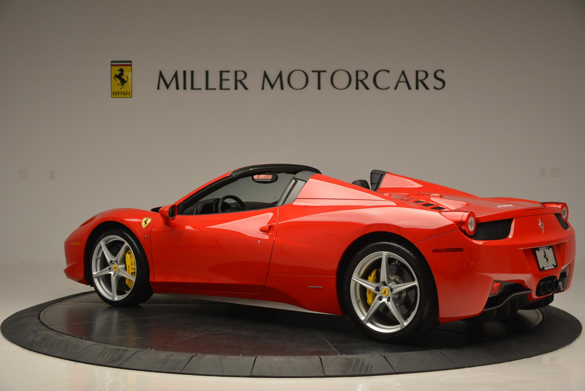 Used 2014 Ferrari 458 Spider  For Sale In Greenwich, CT 122_p4