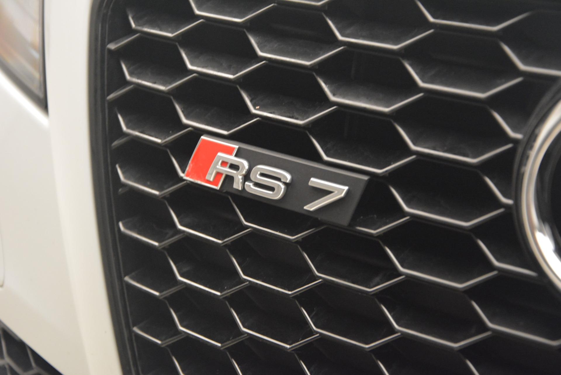 Used 2014 Audi RS 7 4.0T quattro Prestige For Sale In Greenwich, CT 1262_p17
