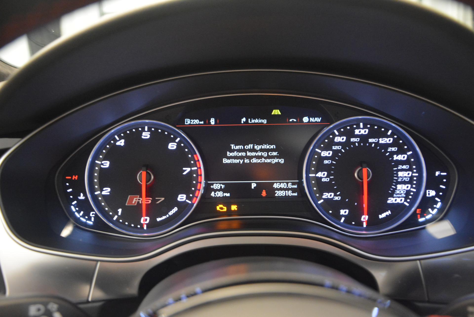 Used 2014 Audi RS 7 4.0T quattro Prestige For Sale In Greenwich, CT 1262_p26