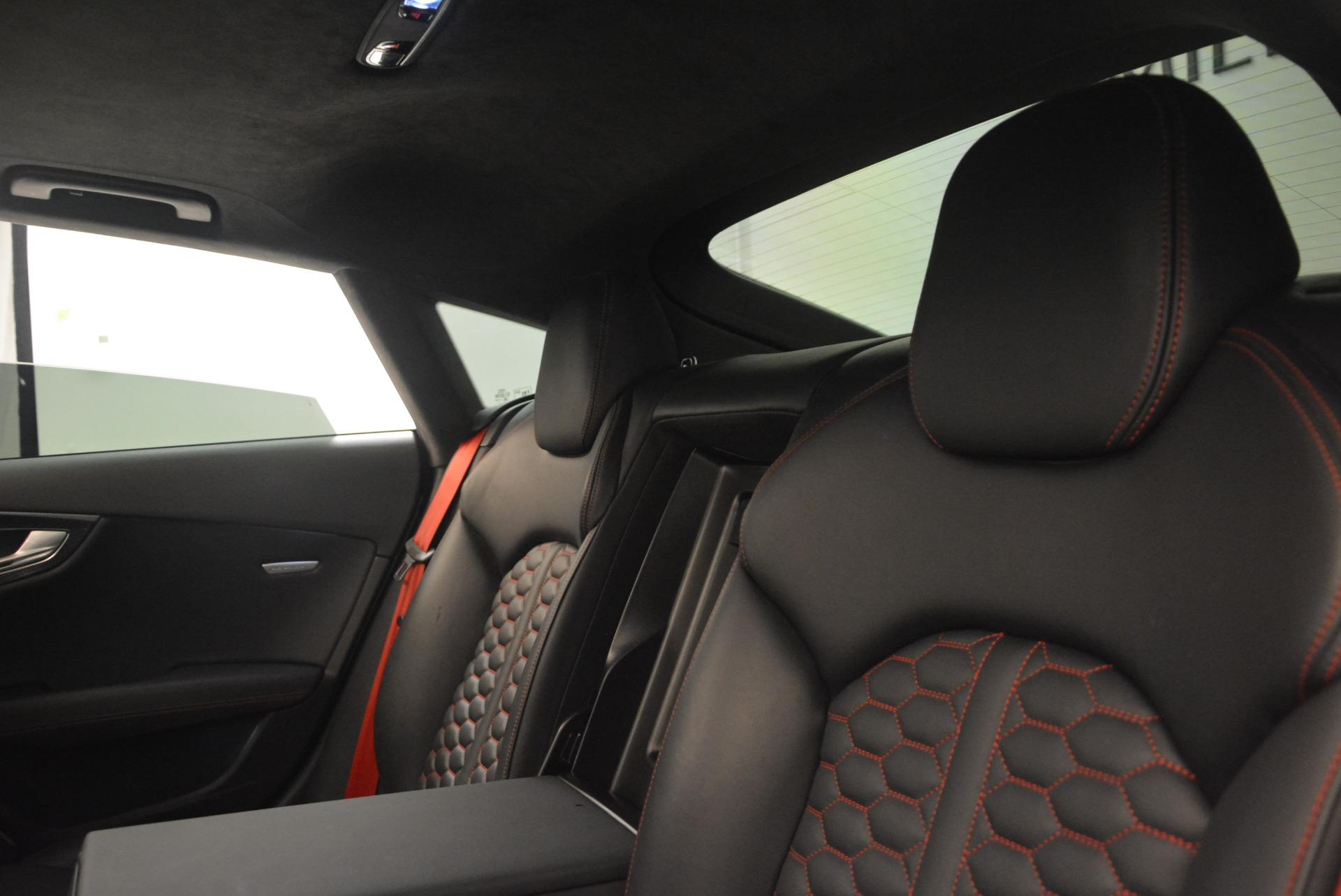 Used 2014 Audi RS 7 4.0T quattro Prestige For Sale In Greenwich, CT 1262_p34
