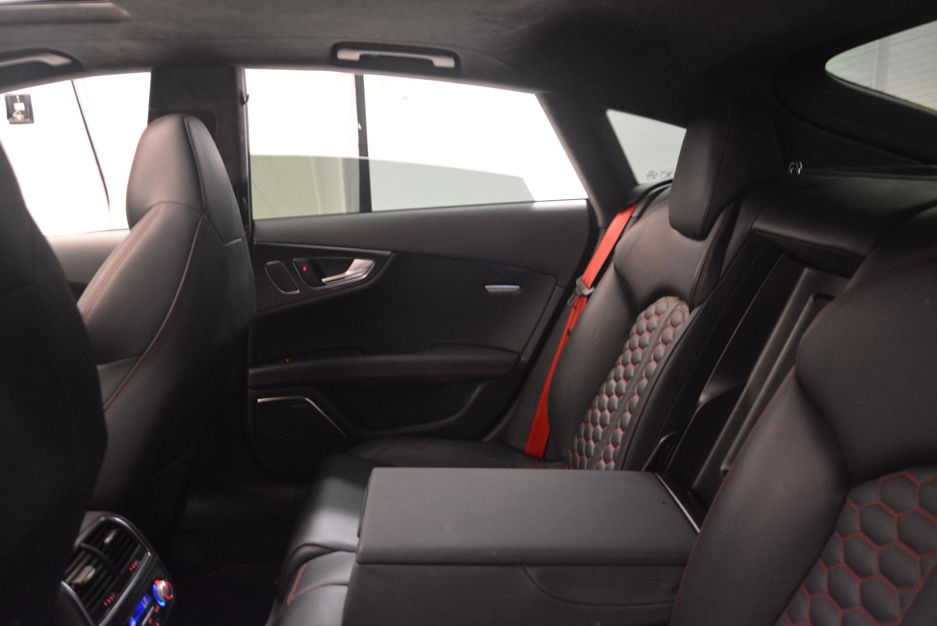 Used 2014 Audi RS 7 4.0T quattro Prestige For Sale In Greenwich, CT 1262_p36
