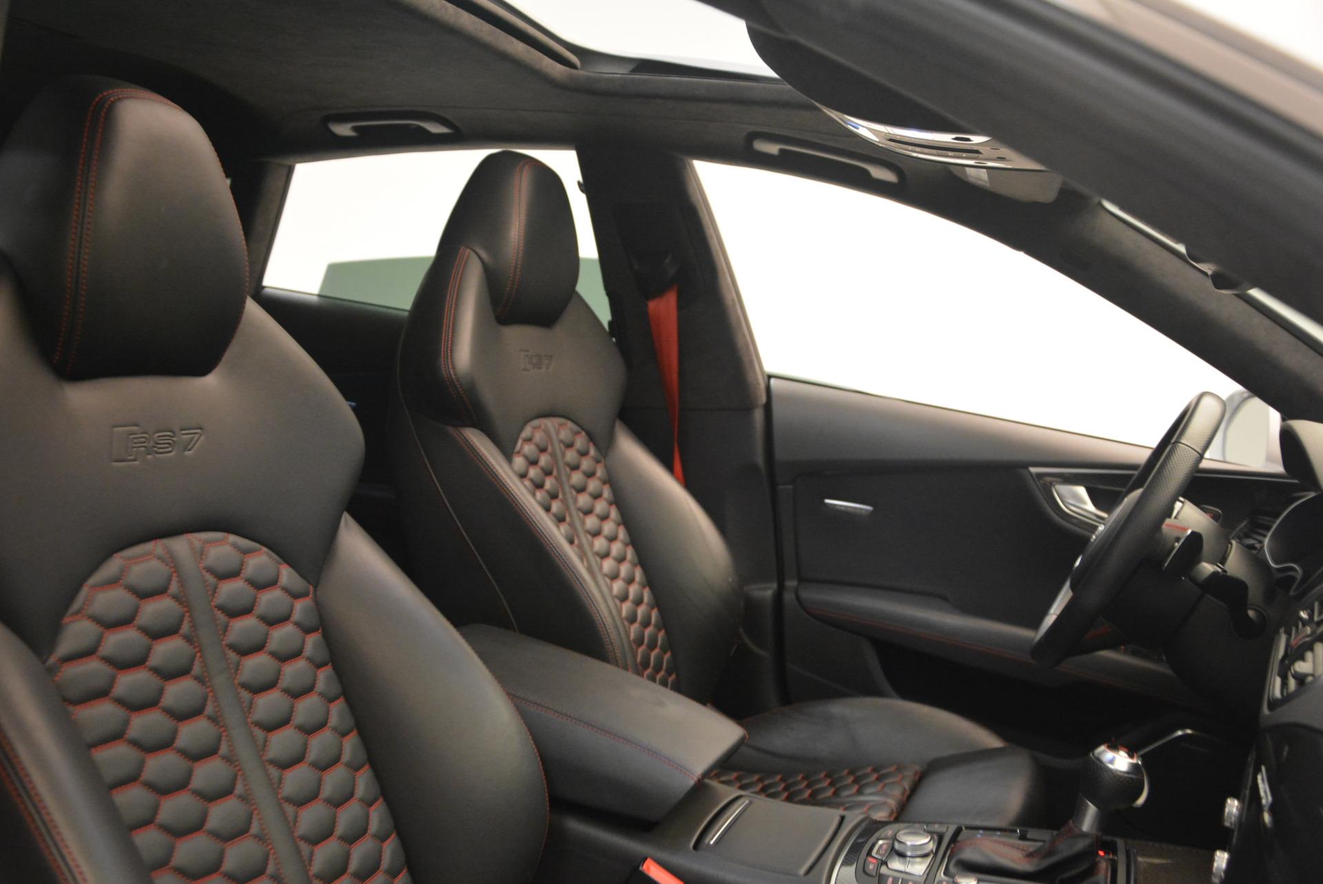 Used 2014 Audi RS 7 4.0T quattro Prestige For Sale In Greenwich, CT 1262_p43