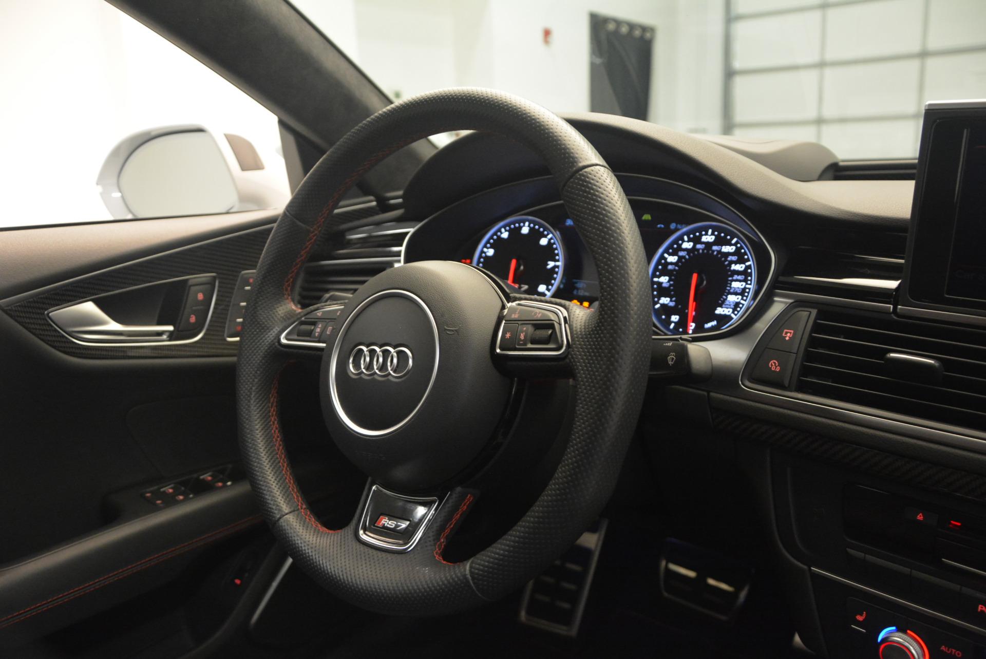 Used 2014 Audi RS 7 4.0T quattro Prestige For Sale In Greenwich, CT 1262_p47