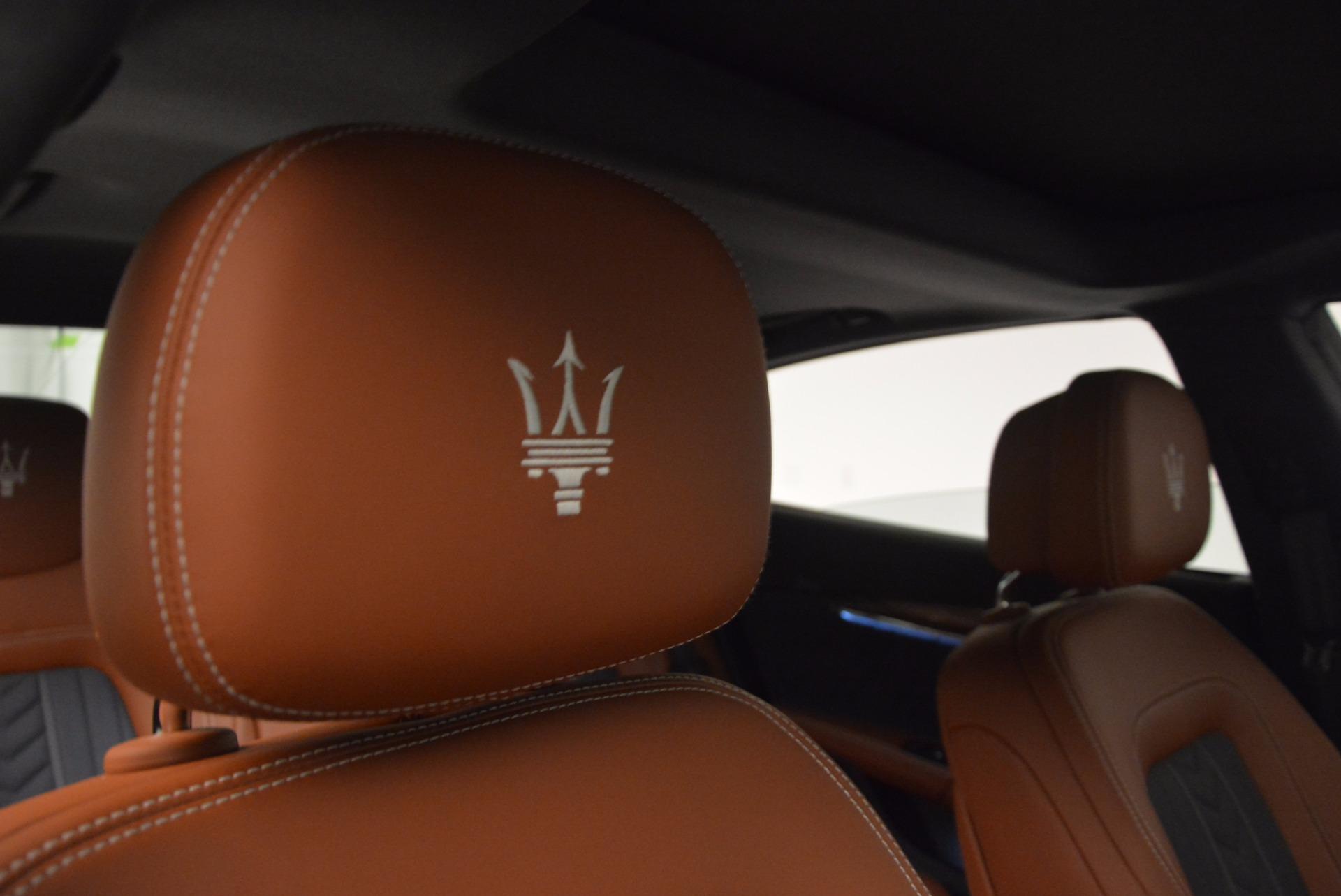 New 2017 Maserati Quattroporte S Q4 GranLusso For Sale In Greenwich, CT 1266_p21