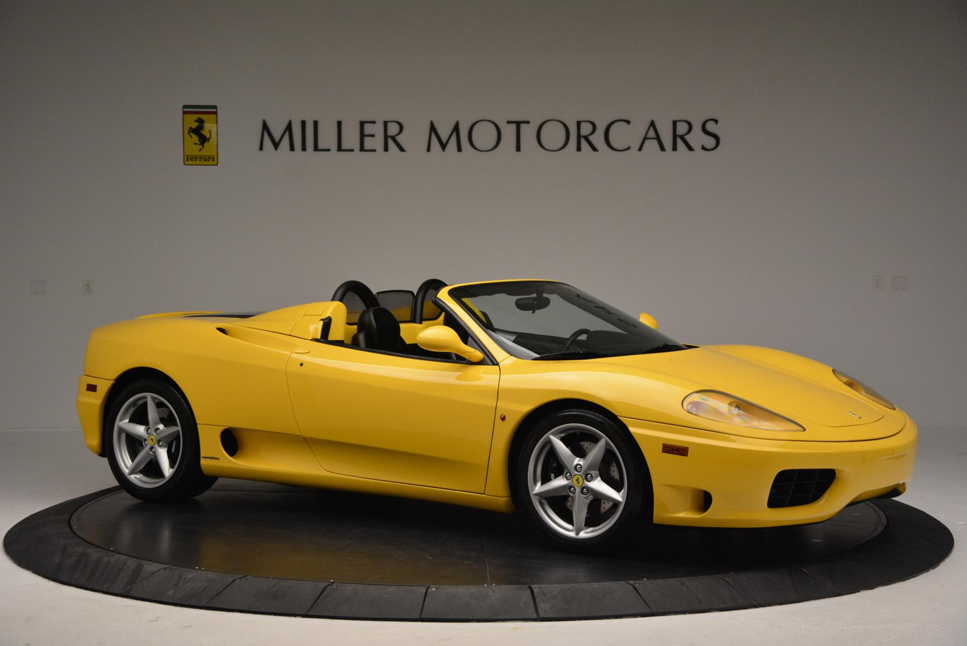 Used 2003 Ferrari 360 Spider 6-Speed Manual  For Sale In Greenwich, CT 127_p10