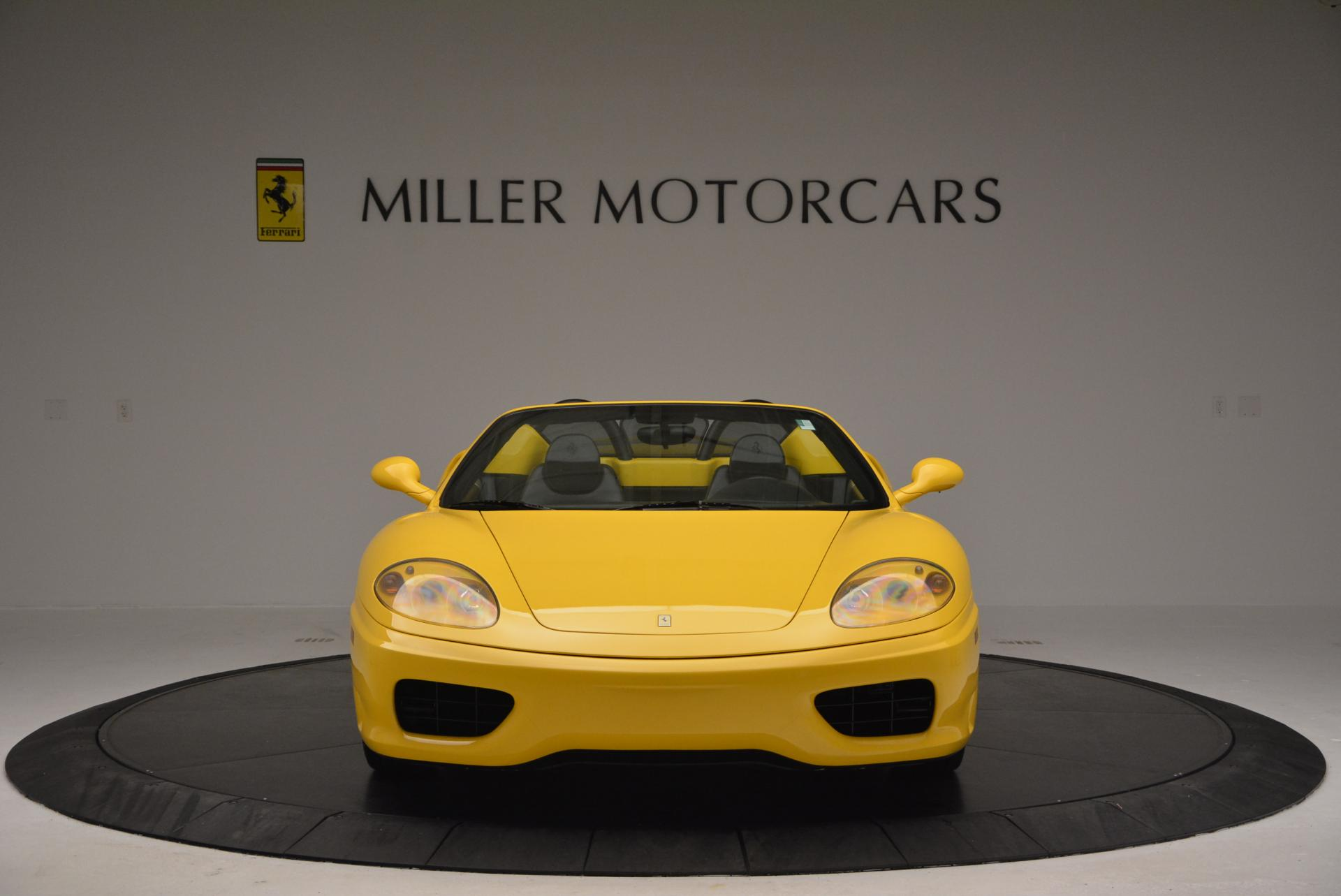 Used 2003 Ferrari 360 Spider 6-Speed Manual  For Sale In Greenwich, CT 127_p12