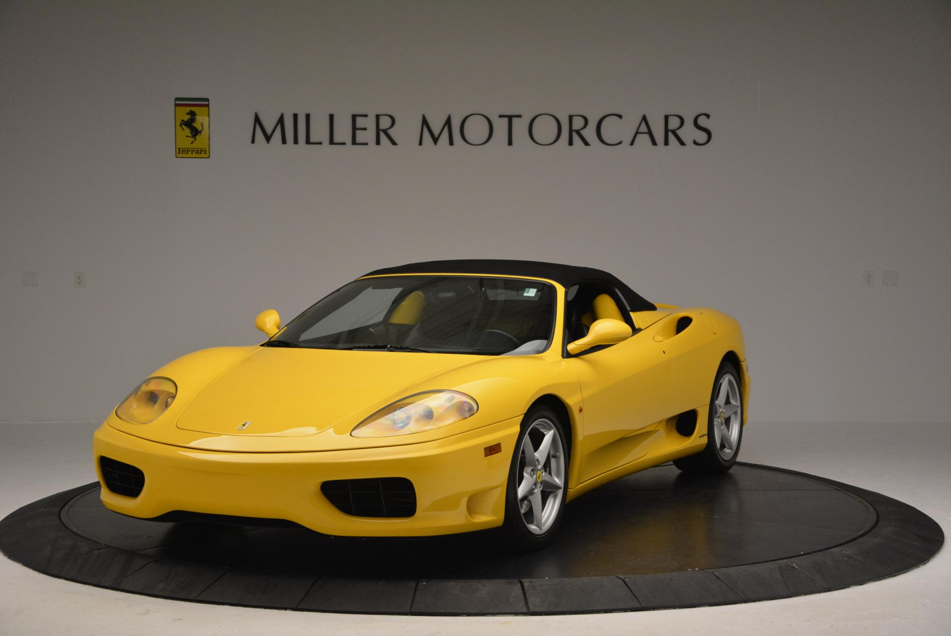 Used 2003 Ferrari 360 Spider 6-Speed Manual  For Sale In Greenwich, CT 127_p13
