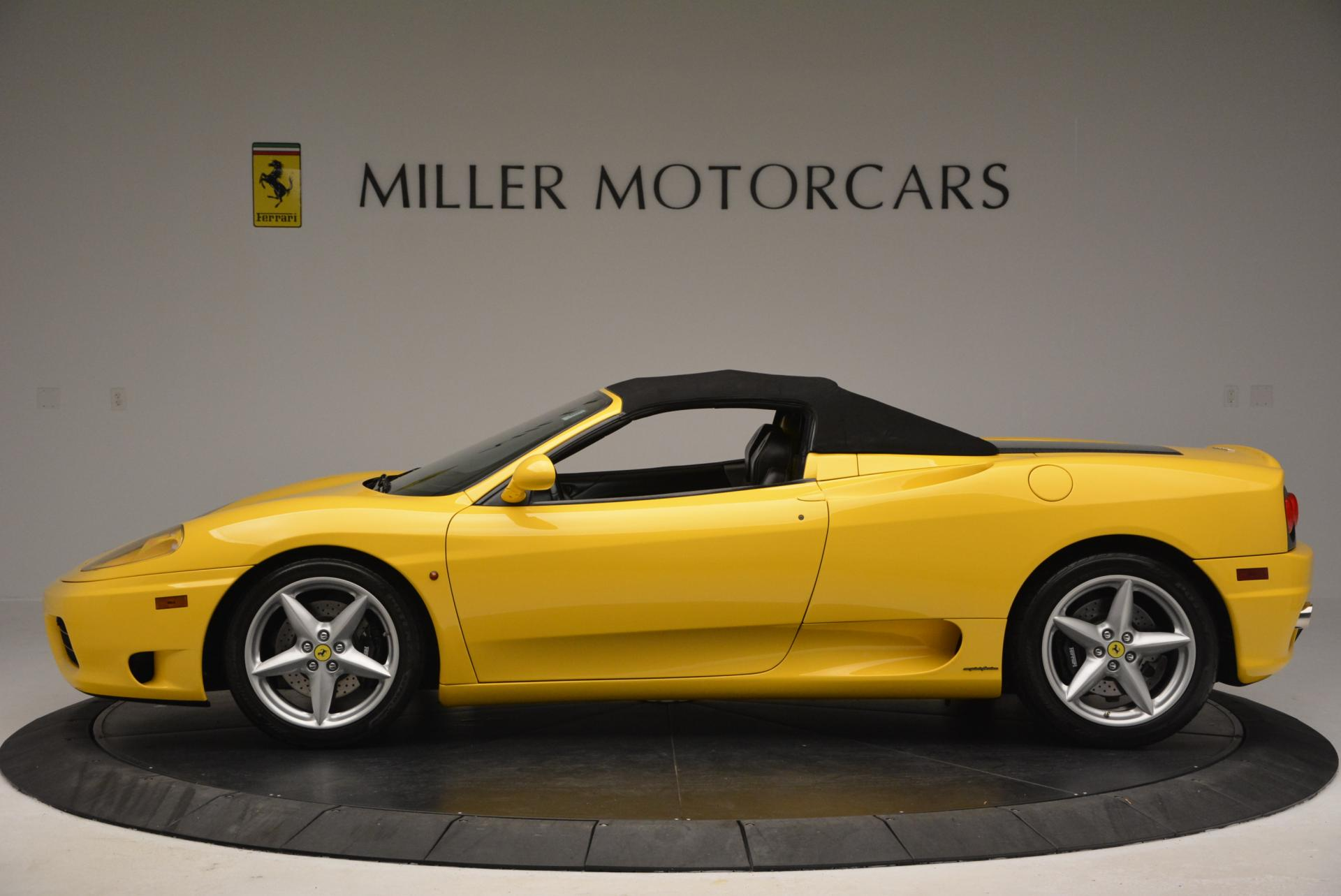 Used 2003 Ferrari 360 Spider 6-Speed Manual  For Sale In Greenwich, CT 127_p15