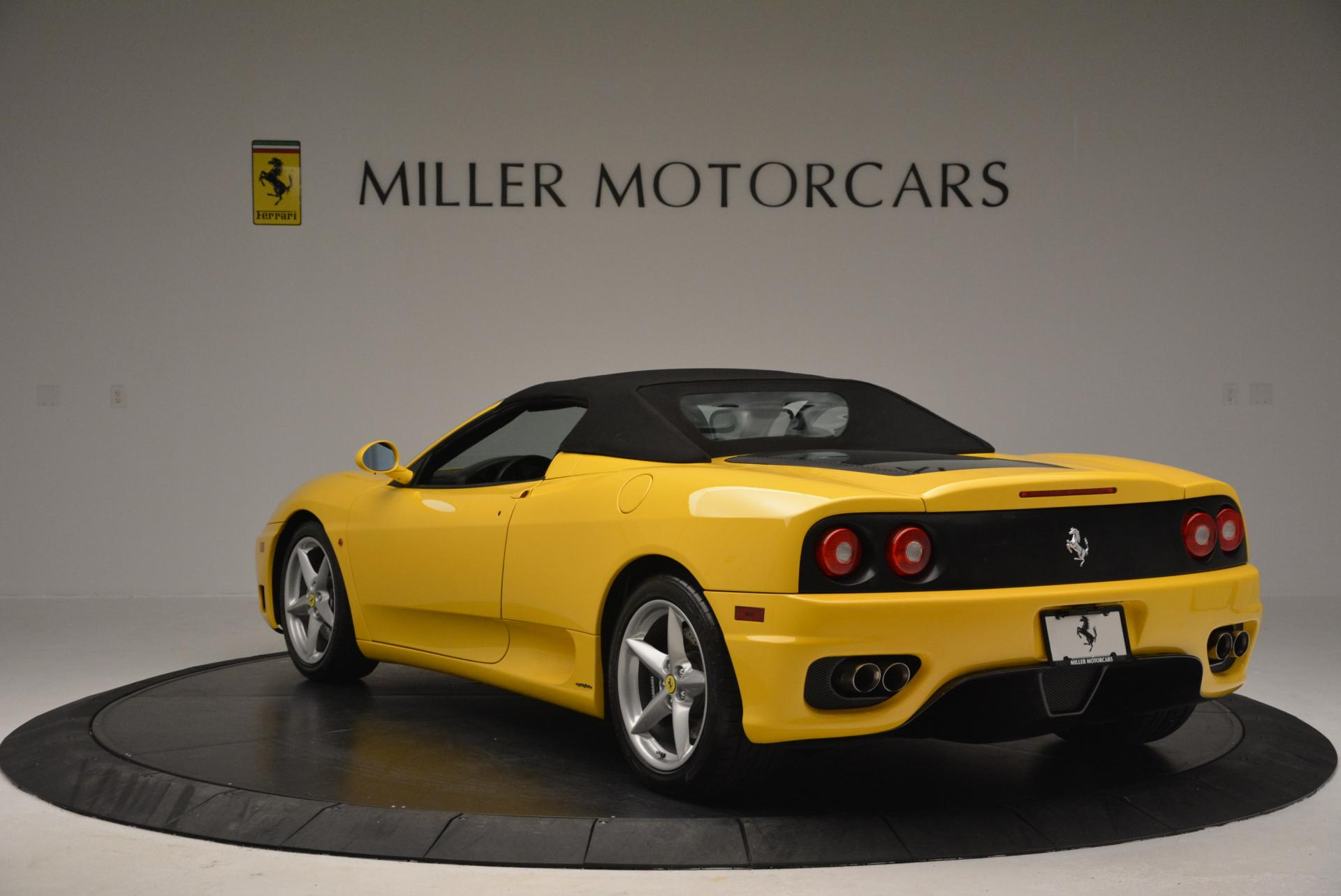 Used 2003 Ferrari 360 Spider 6-Speed Manual  For Sale In Greenwich, CT 127_p17