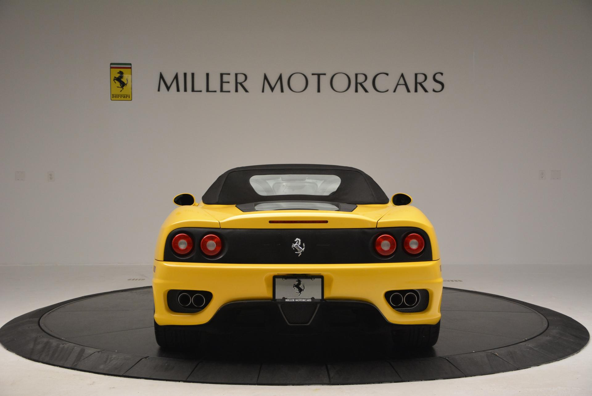 Used 2003 Ferrari 360 Spider 6-Speed Manual  For Sale In Greenwich, CT 127_p18