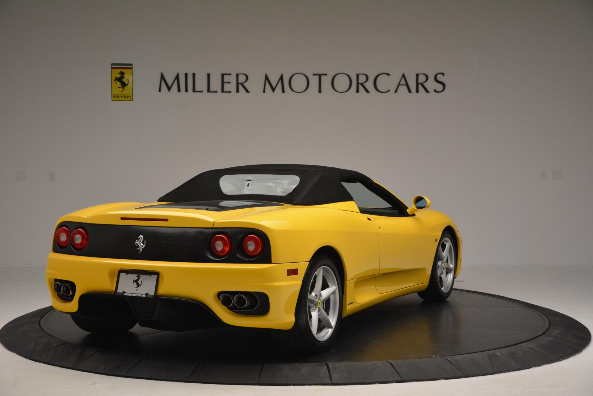 Used 2003 Ferrari 360 Spider 6-Speed Manual  For Sale In Greenwich, CT 127_p19
