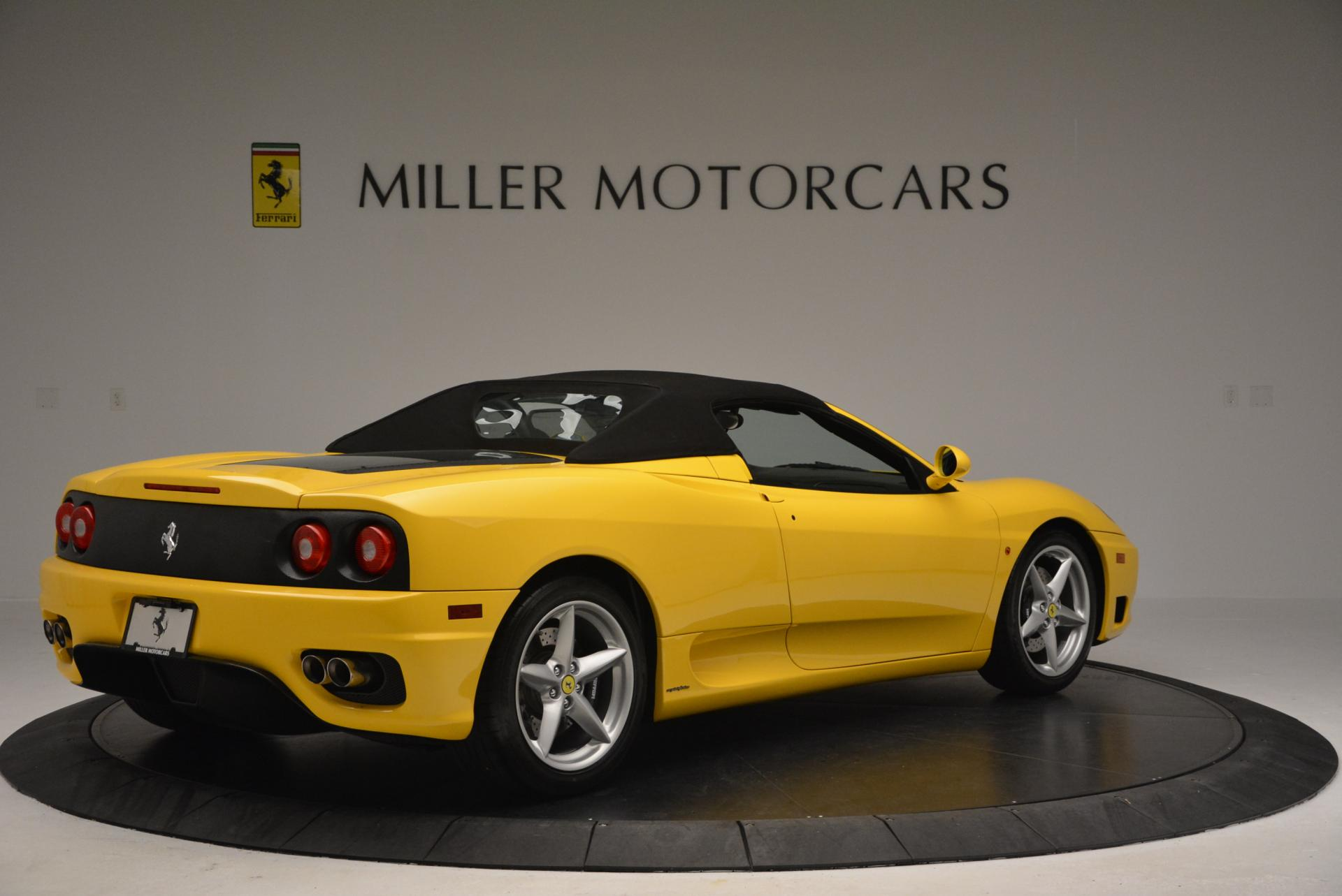 Used 2003 Ferrari 360 Spider 6-Speed Manual  For Sale In Greenwich, CT 127_p20