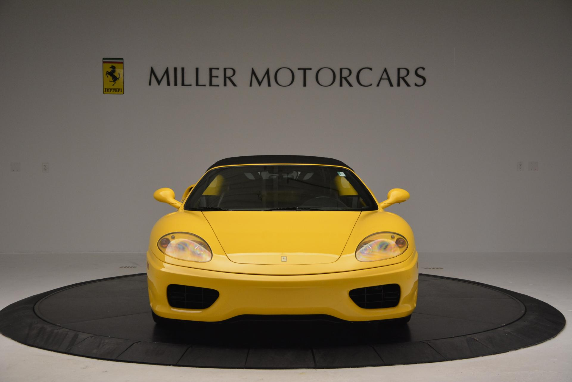 Used 2003 Ferrari 360 Spider 6-Speed Manual  For Sale In Greenwich, CT 127_p24