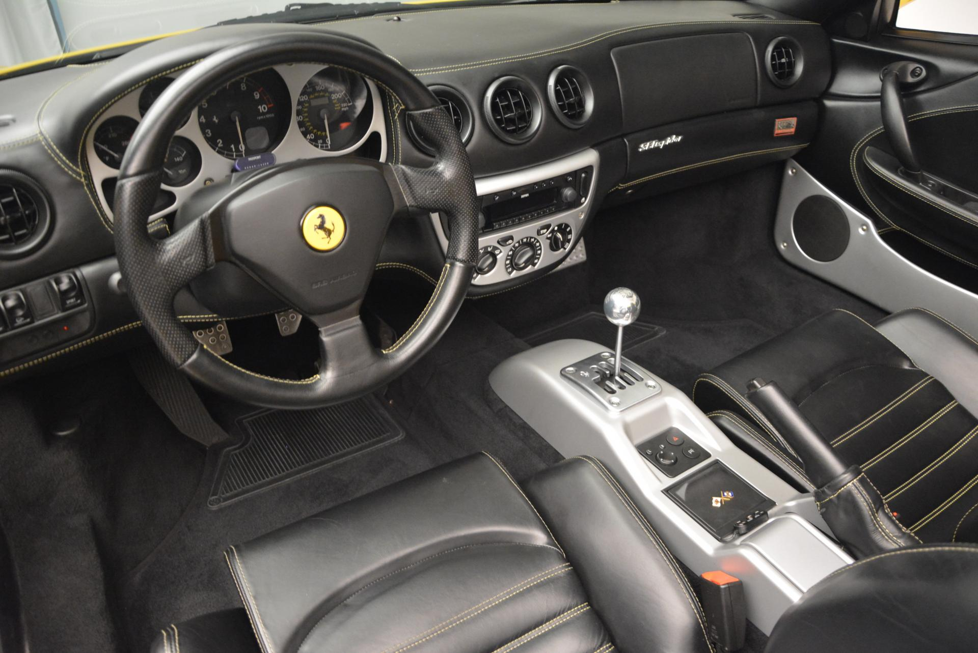 Used 2003 Ferrari 360 Spider 6-Speed Manual  For Sale In Greenwich, CT 127_p25