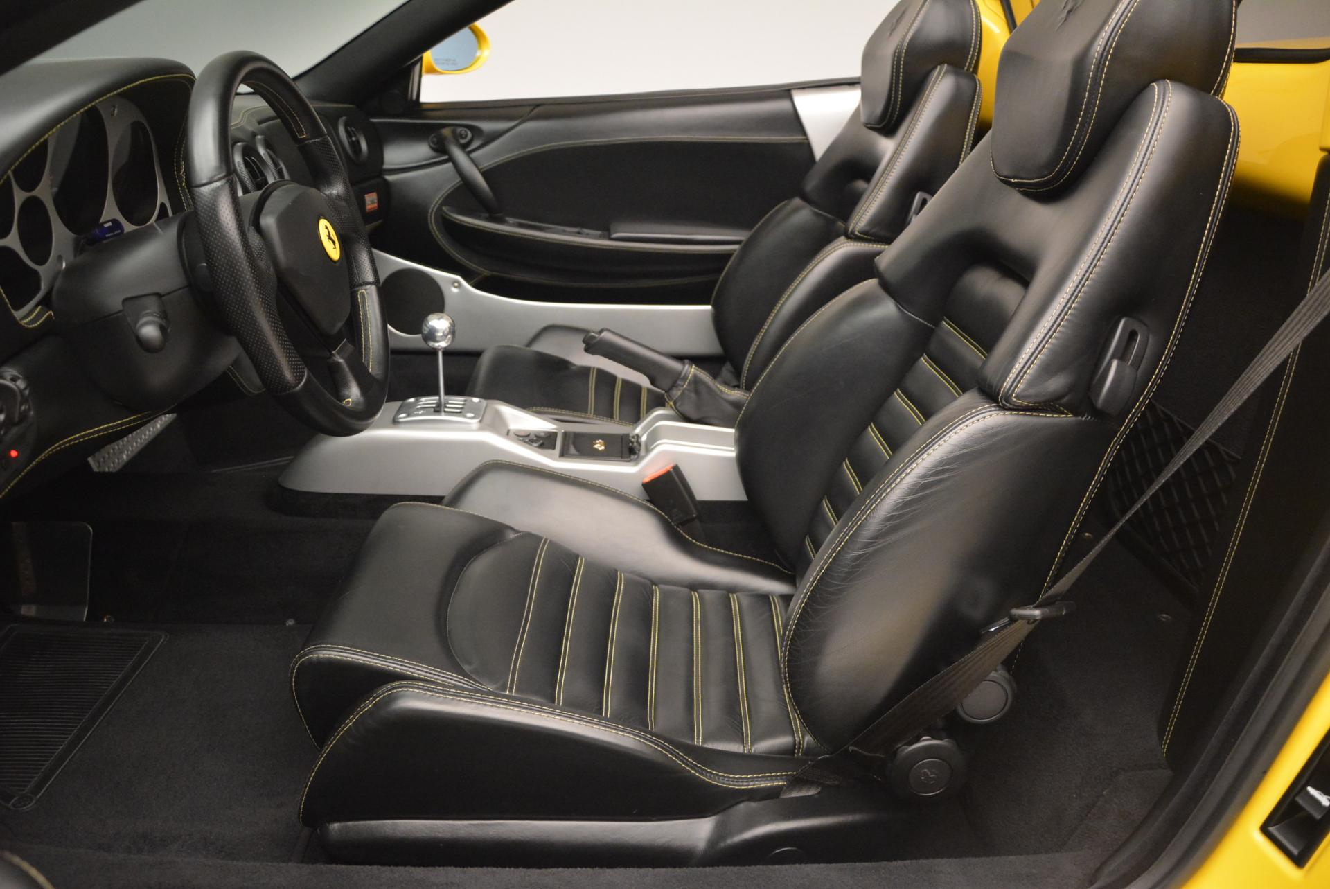Used 2003 Ferrari 360 Spider 6-Speed Manual  For Sale In Greenwich, CT 127_p26