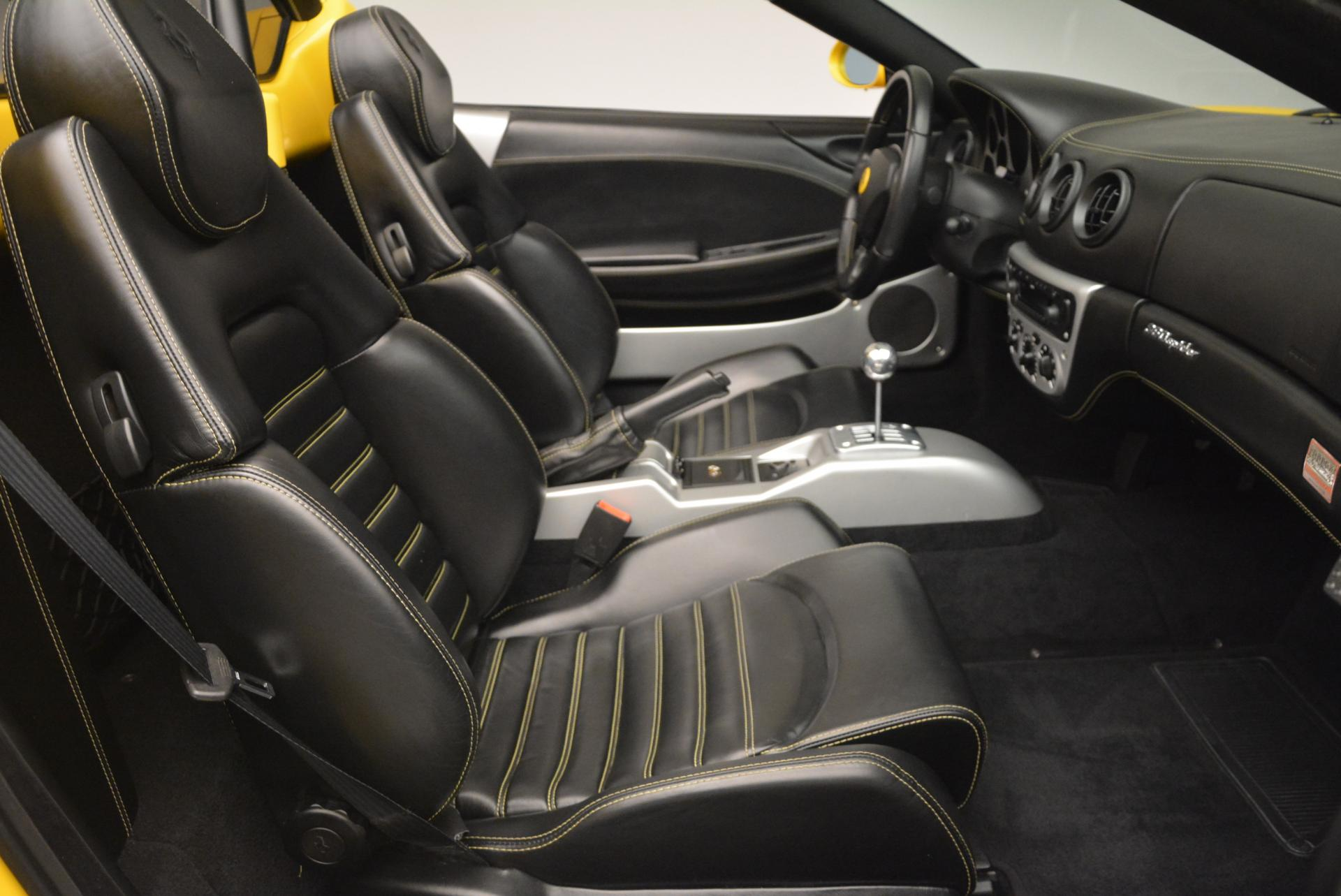 Used 2003 Ferrari 360 Spider 6-Speed Manual  For Sale In Greenwich, CT 127_p30