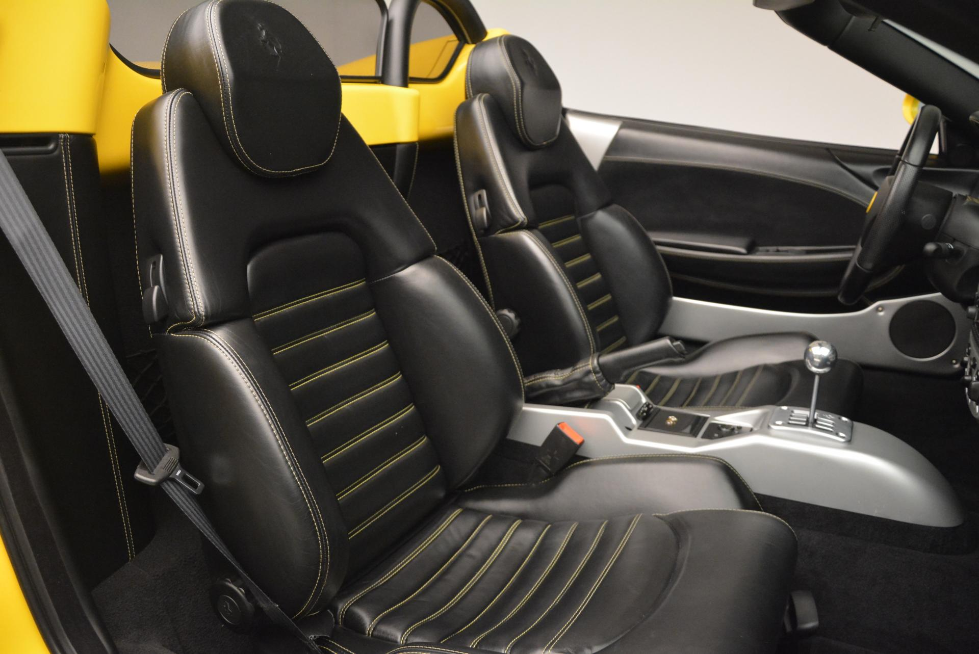 Used 2003 Ferrari 360 Spider 6-Speed Manual  For Sale In Greenwich, CT 127_p31