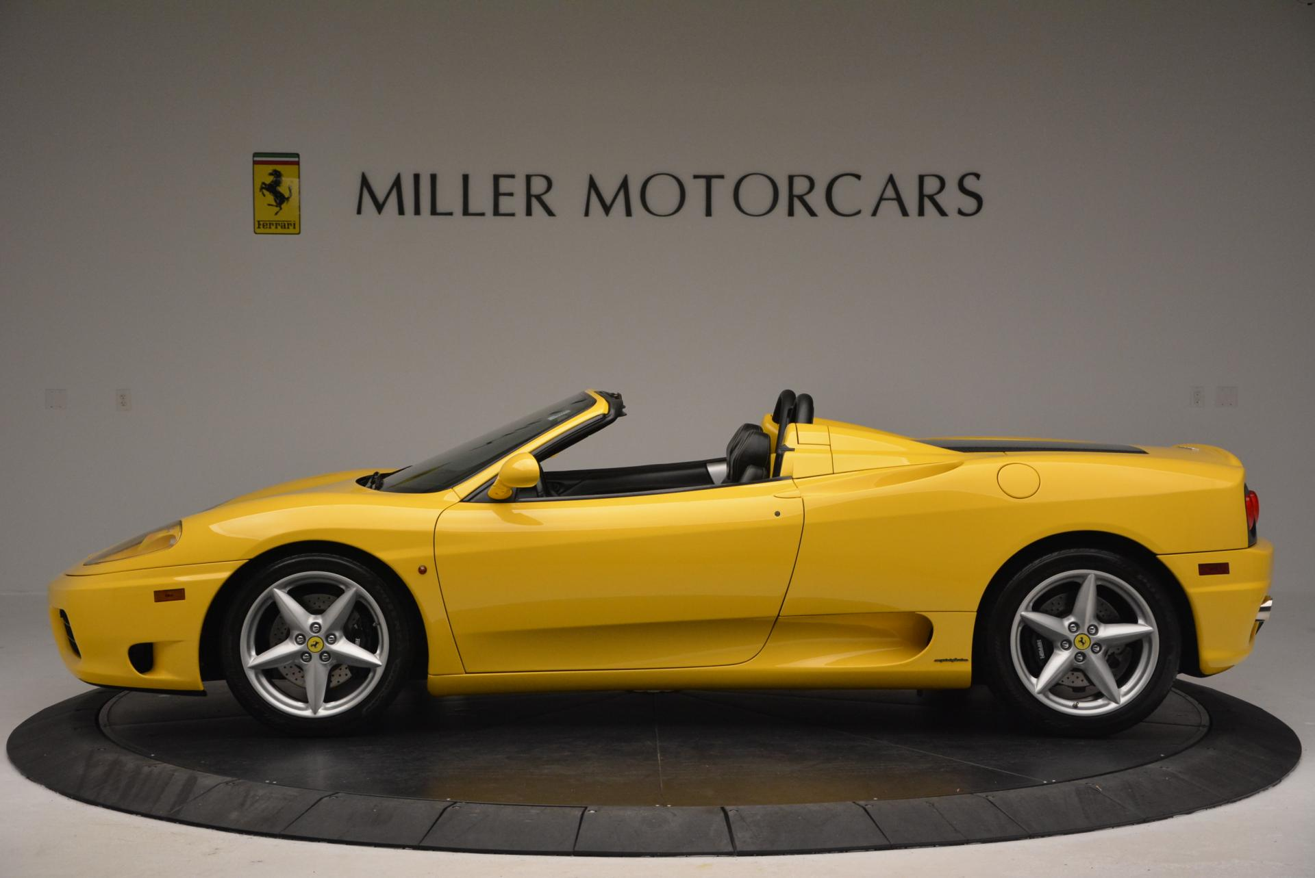 Used 2003 Ferrari 360 Spider 6-Speed Manual  For Sale In Greenwich, CT 127_p3