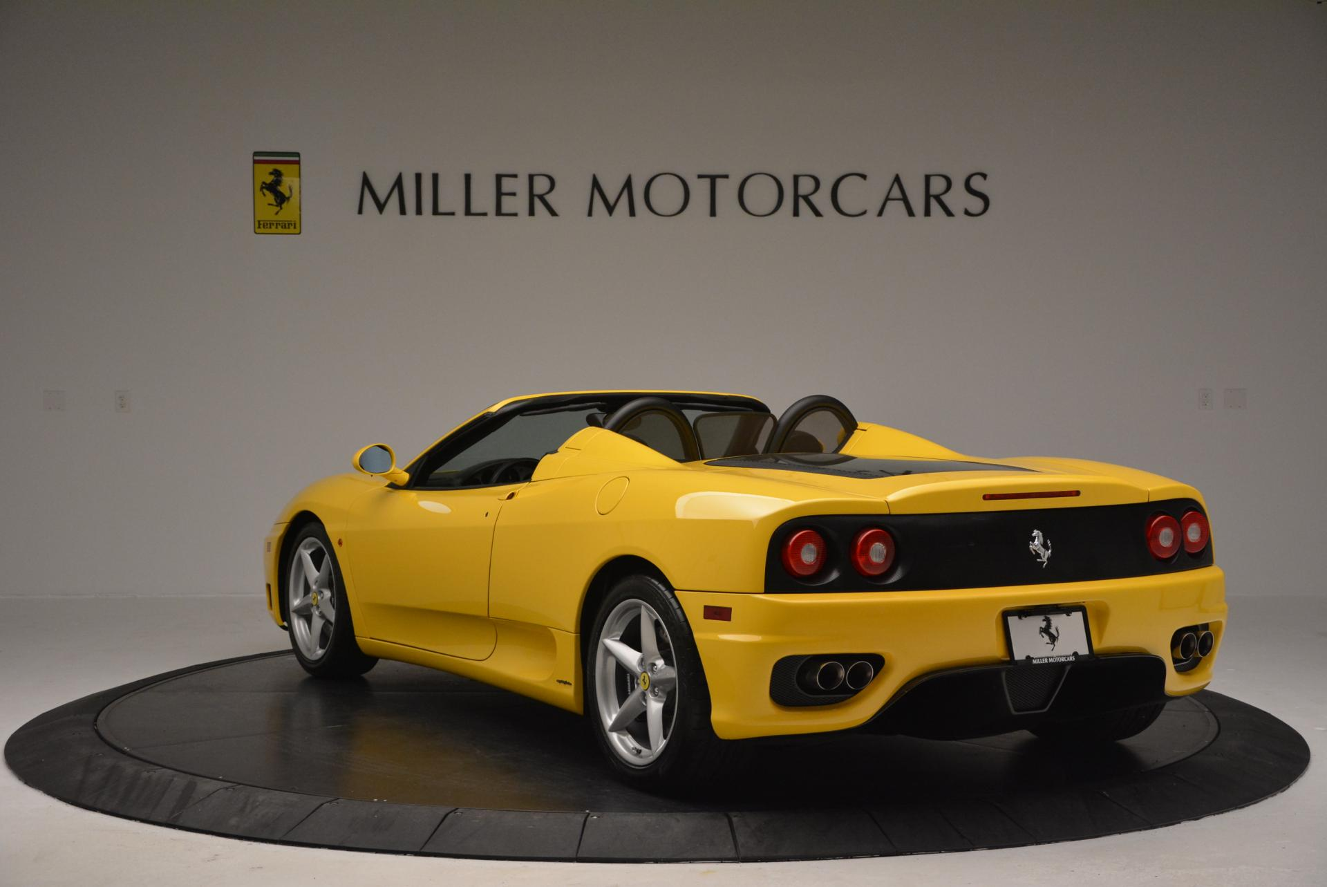 Used 2003 Ferrari 360 Spider 6-Speed Manual  For Sale In Greenwich, CT 127_p5