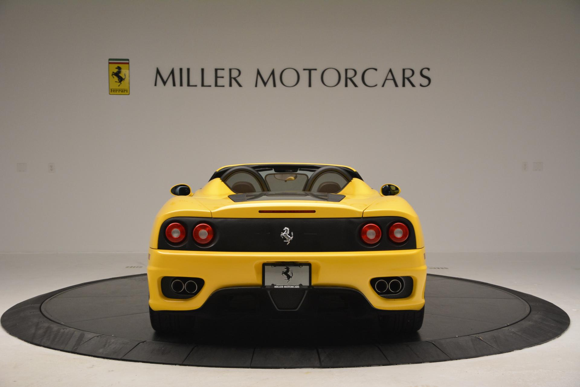 Used 2003 Ferrari 360 Spider 6-Speed Manual  For Sale In Greenwich, CT 127_p6