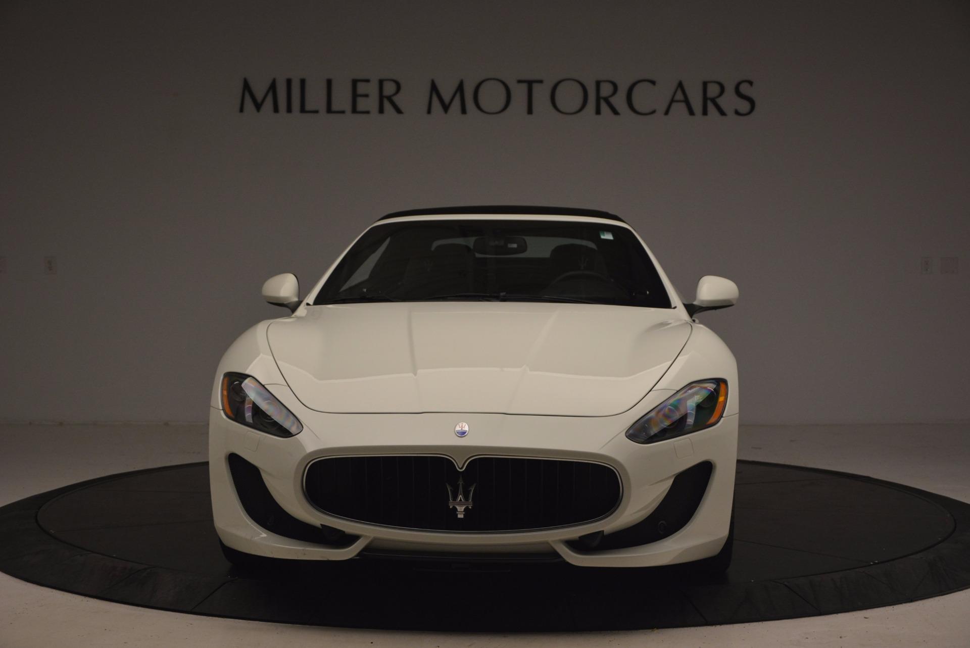 Used 2016 Maserati GranTurismo Sport For Sale In Greenwich, CT 1278_p25