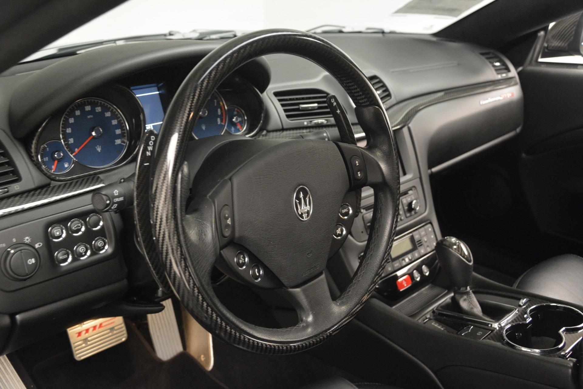 Used 2012 Maserati GranTurismo MC For Sale In Greenwich, CT 1284_p36